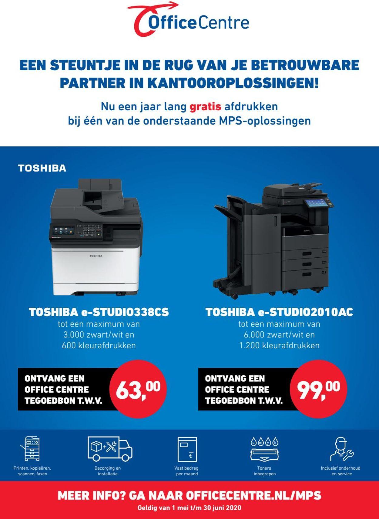 Office Centre Folder - 01.05-30.05.2020