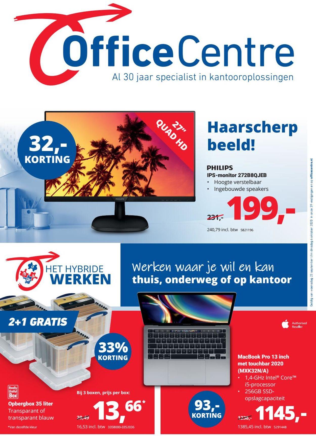 Office Centre Folder - 23.09-06.10.2020