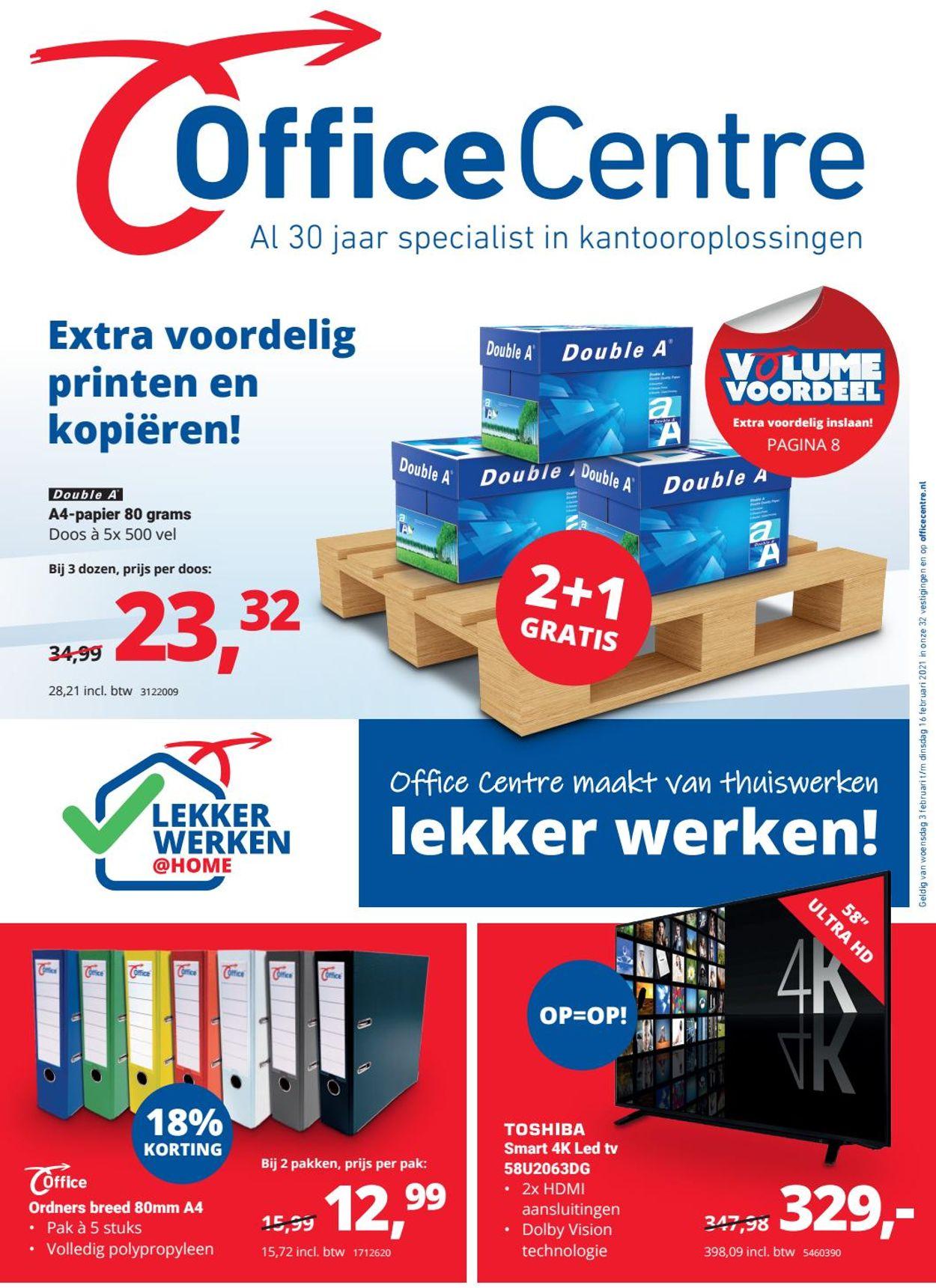 Office Centre Folder - 03.02-16.02.2021