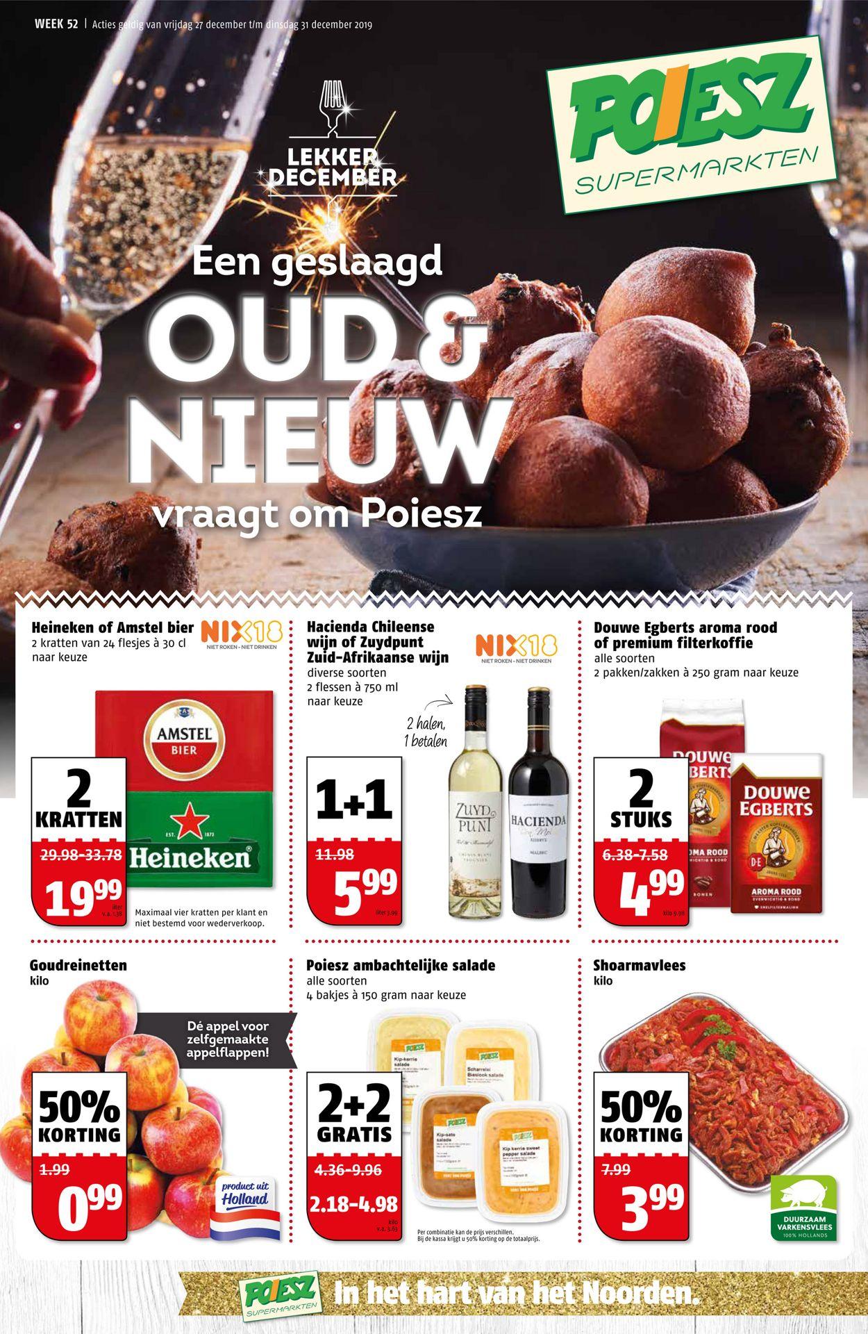 Poiesz - Nieuw jaars folder 2019 Folder - 27.12-31.12.2019