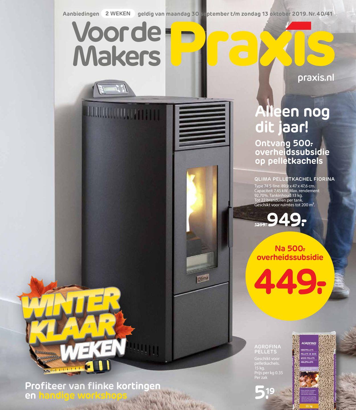 Praxis Folder - 30.09-13.10.2019