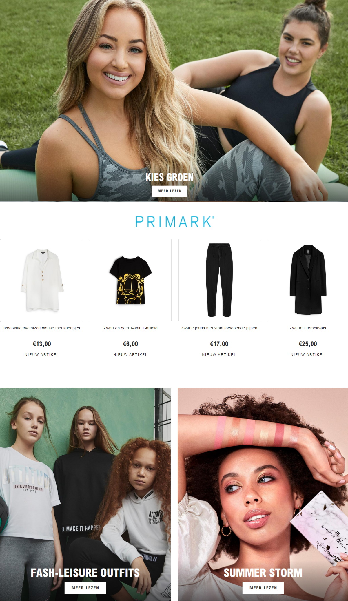 Primark Folder - 27.12-13.01.2020