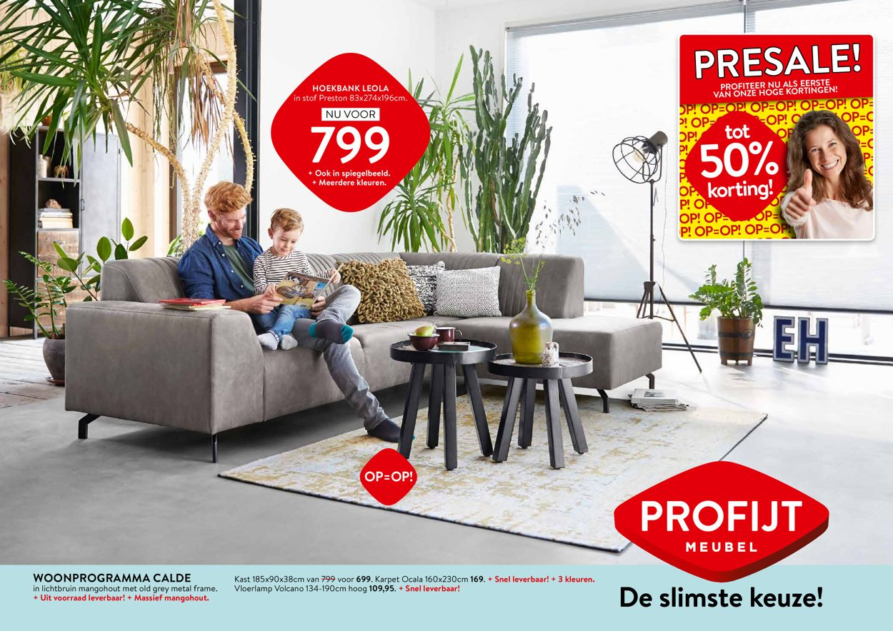 Profijt Meubel Folder - 18.05-31.05.2020