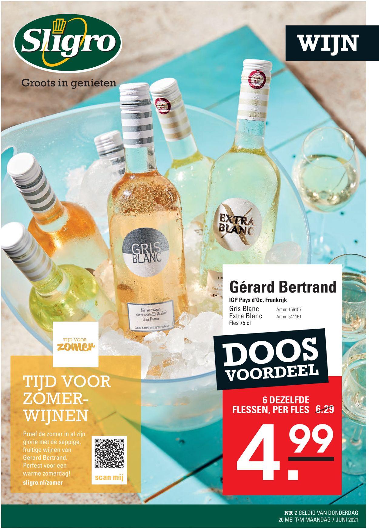 Sligro Wijn Folder - 20.05-07.06.2021