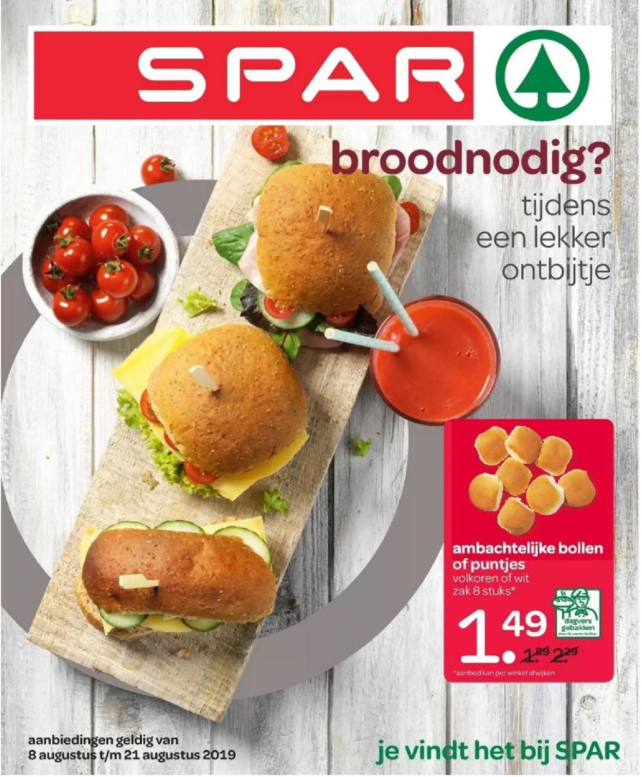 SPAR Folder - 08.08-21.08.2019