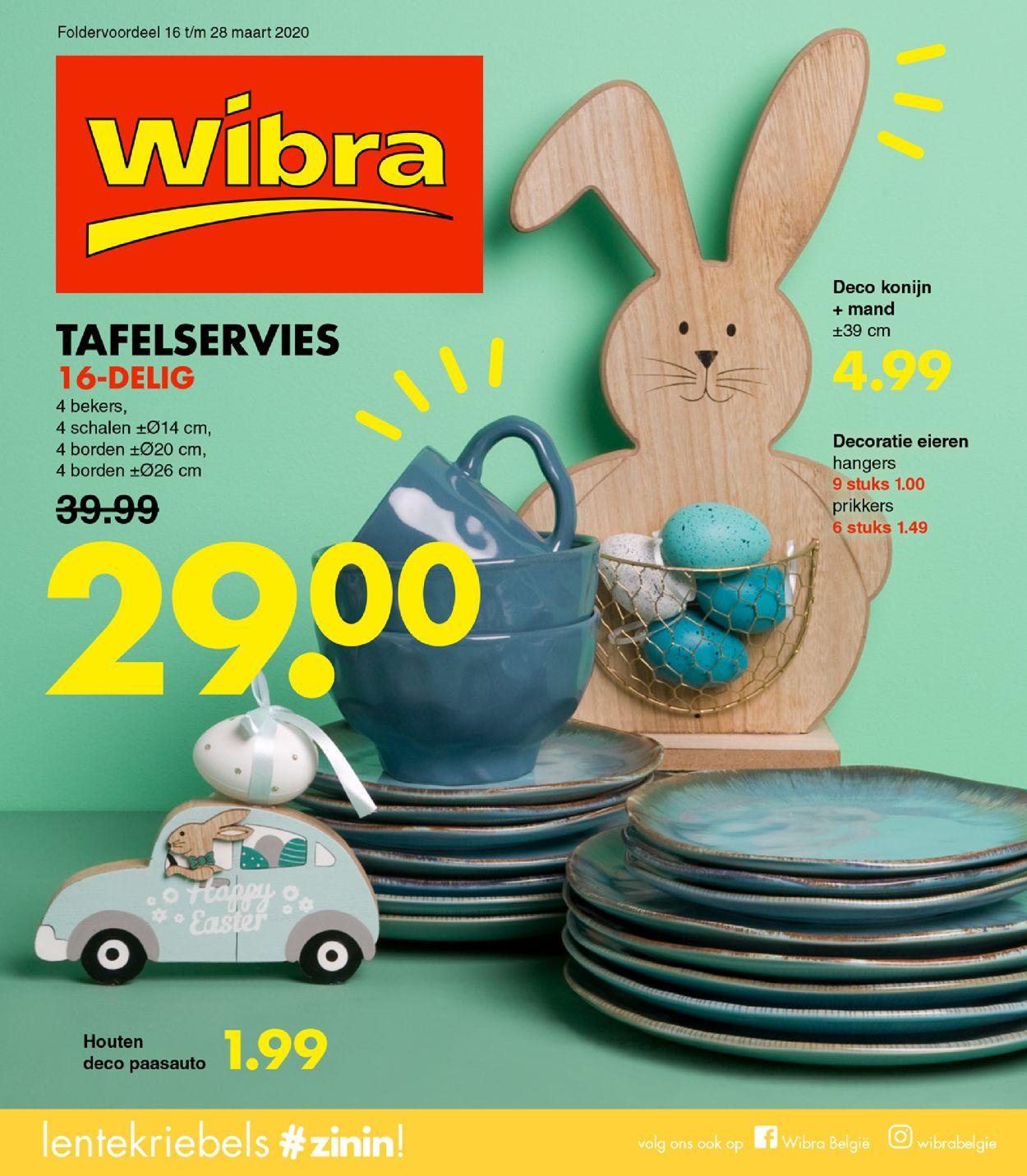 Wibra Folder - 16.03-28.03.2020