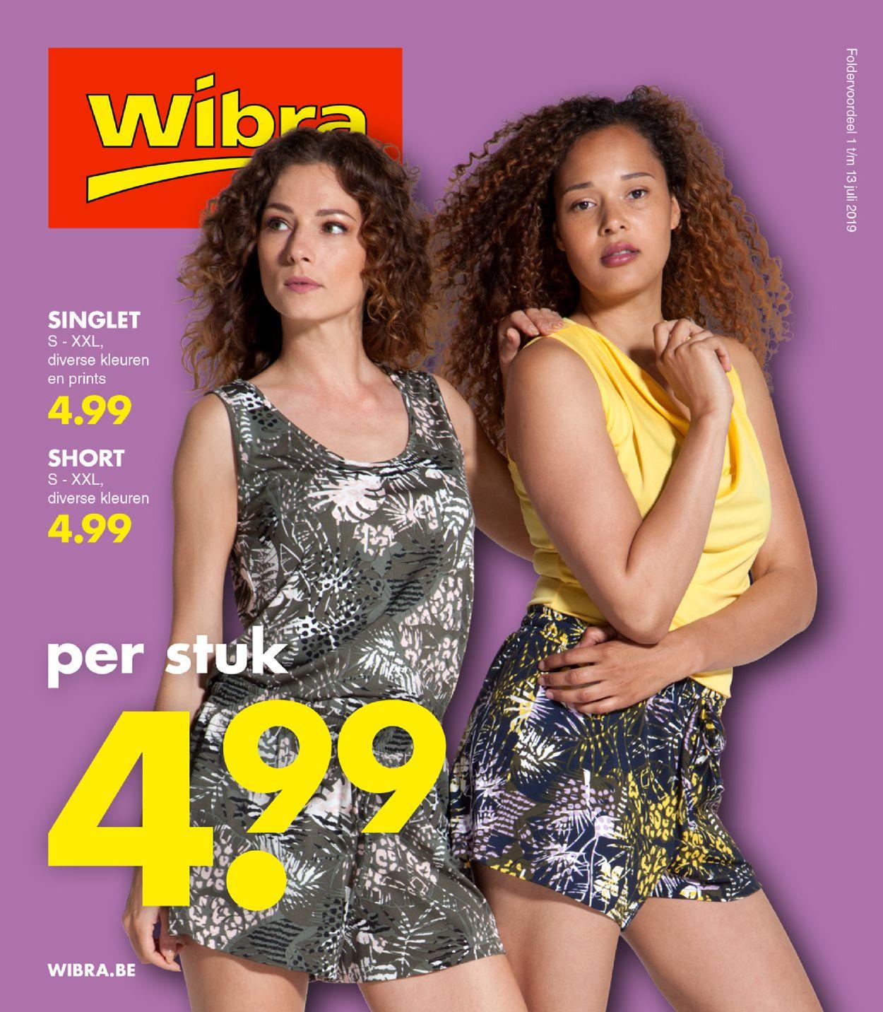 Wibra Folder - 01.07-13.07.2019