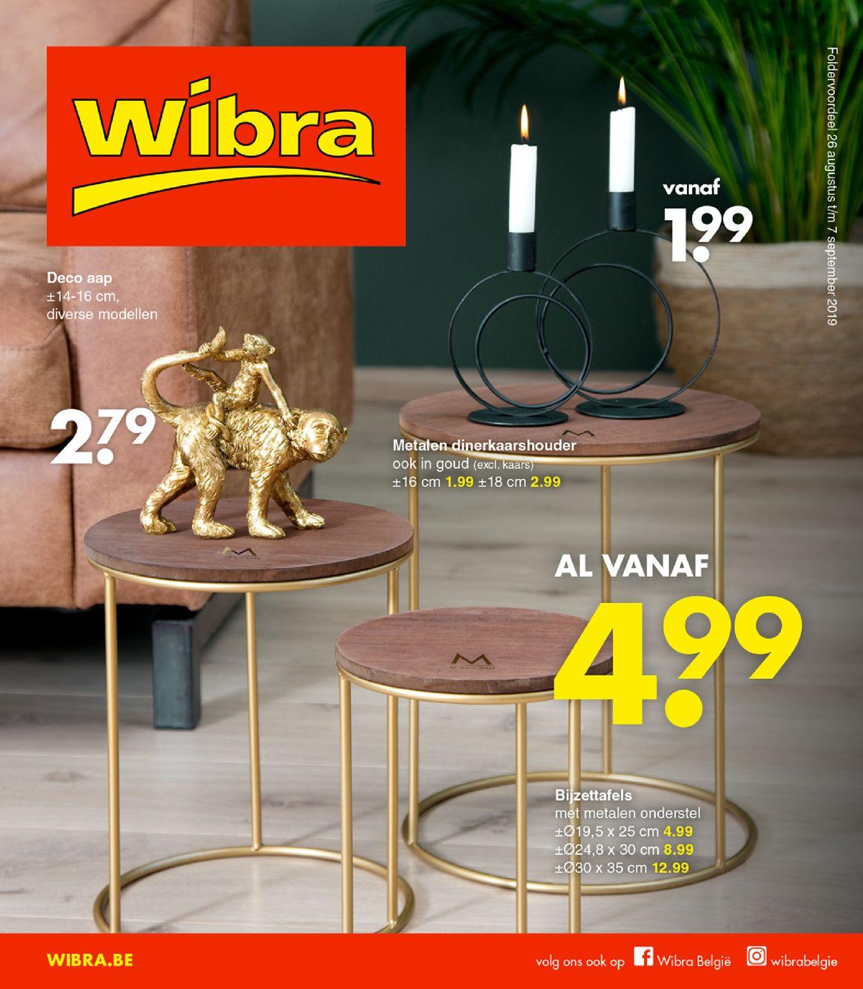 Wibra Folder - 26.08-07.09.2019