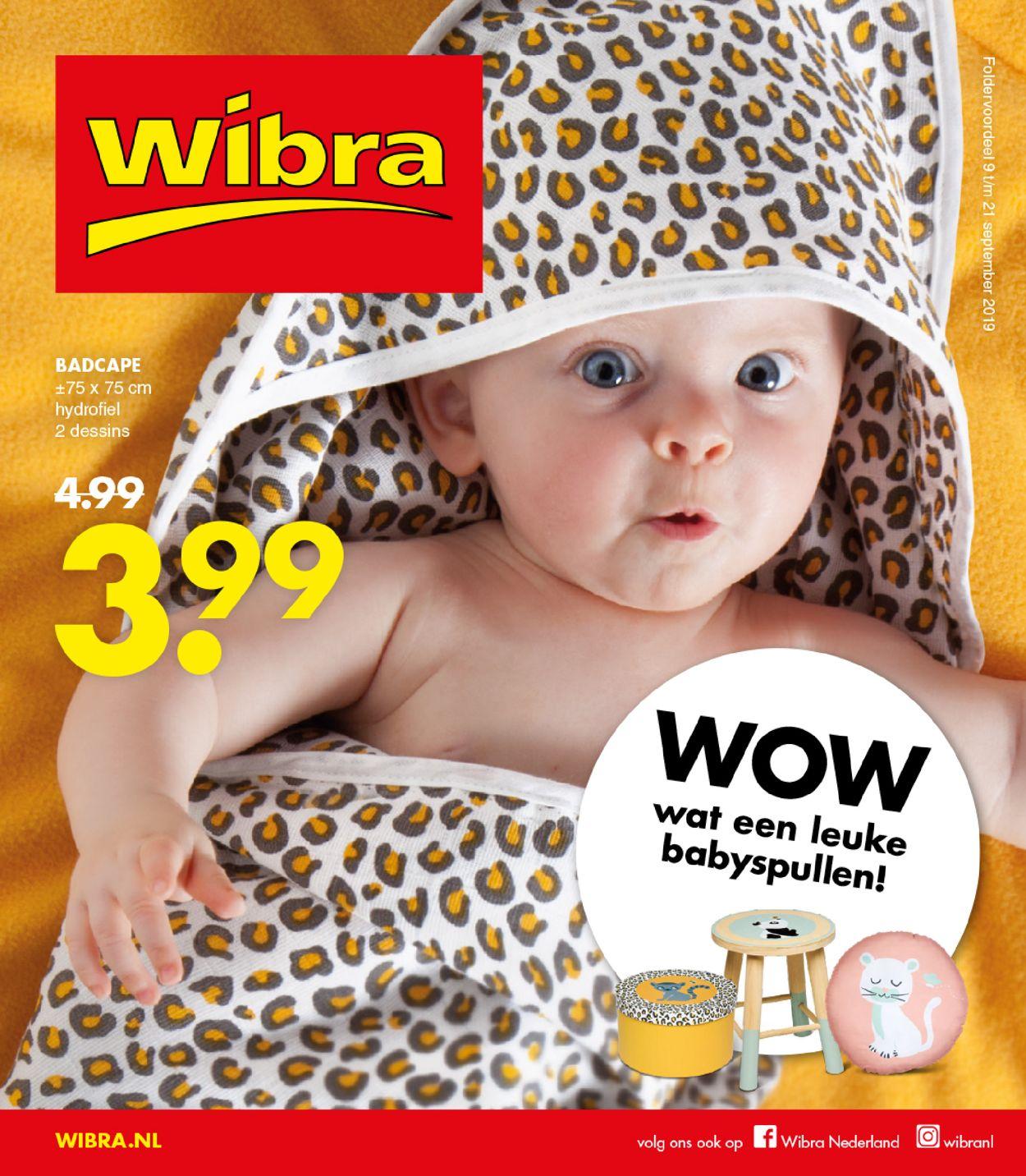 Wibra Folder - 09.09-21.09.2019