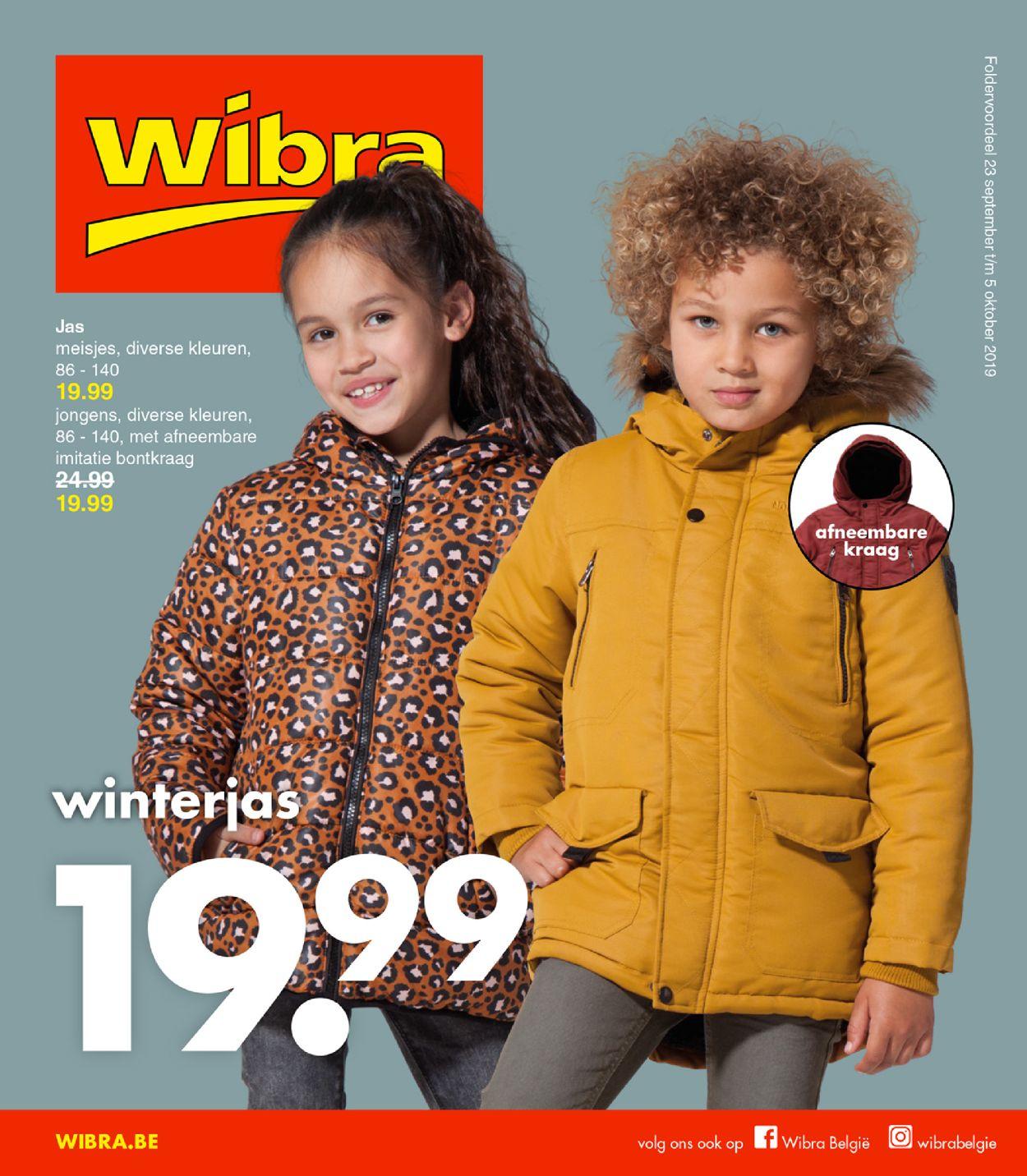 Wibra Folder - 23.09-05.10.2019