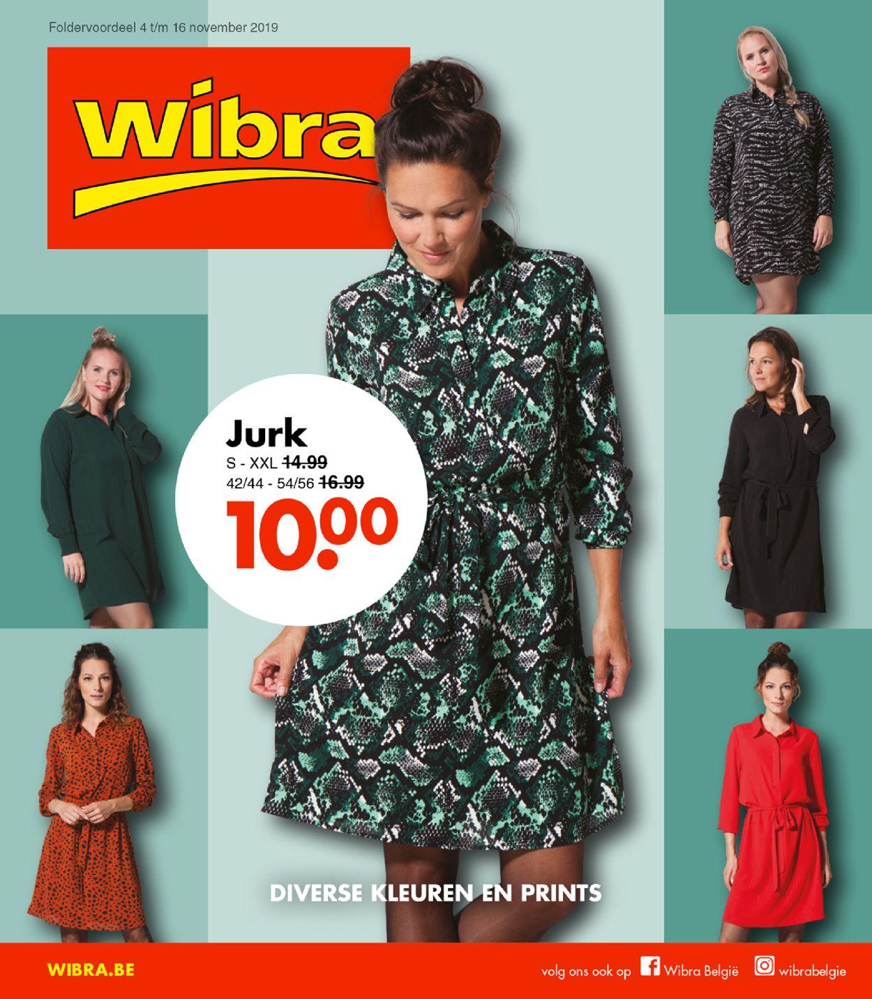 Wibra Folder - 04.11-16.11.2019