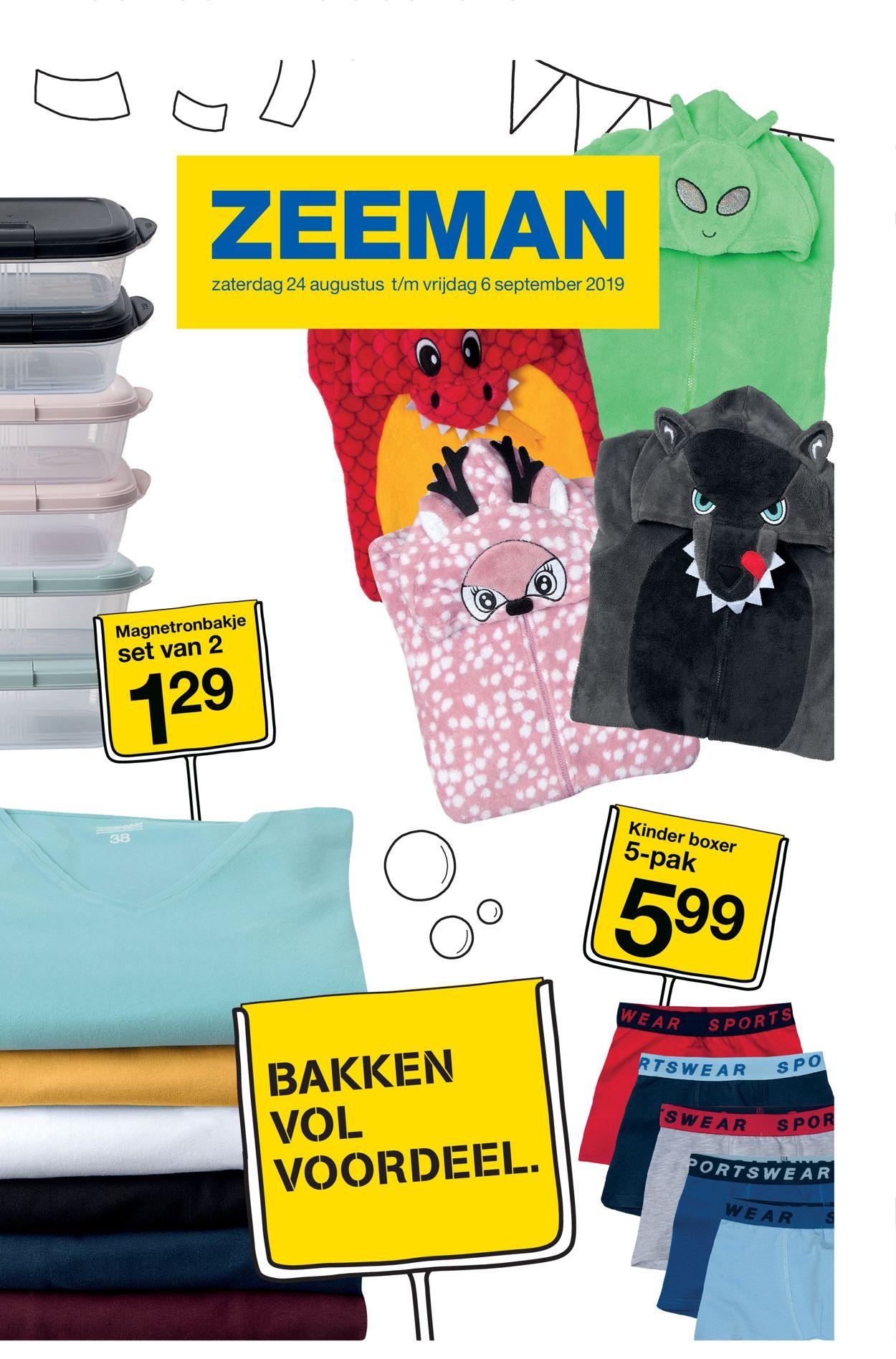 Zeeman Folder - 24.08-06.09.2019