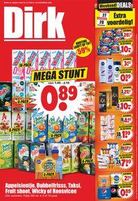 Dirk Black Friday 2020