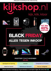 Kijkshop BLACK FRIDAY 2020