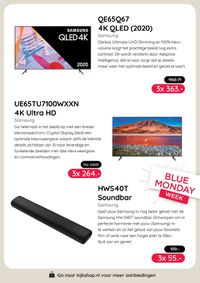 Kijkshop Blue Monday Week