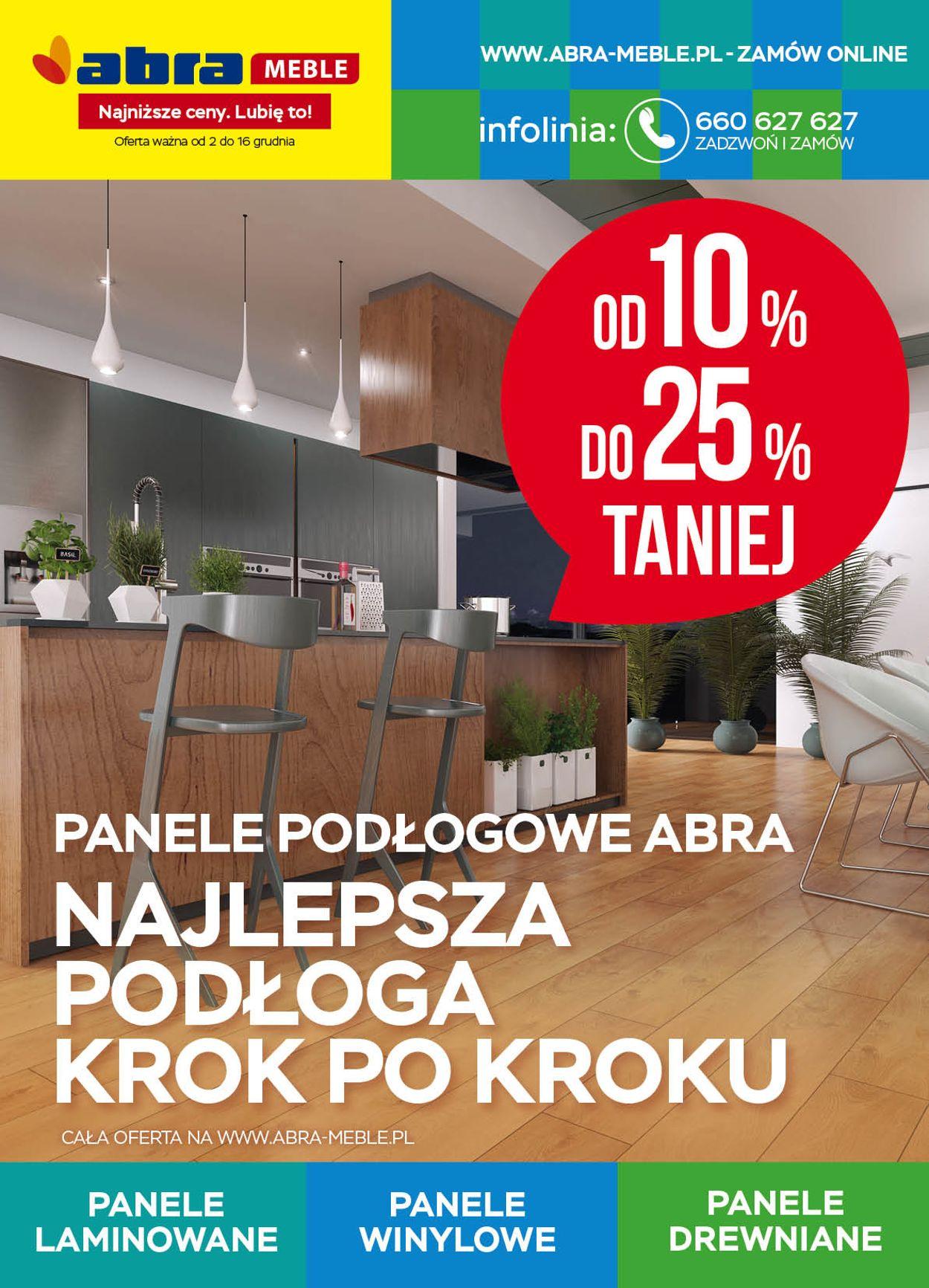 Gazetka promocyjna Abra - 02.12-16.12.2020