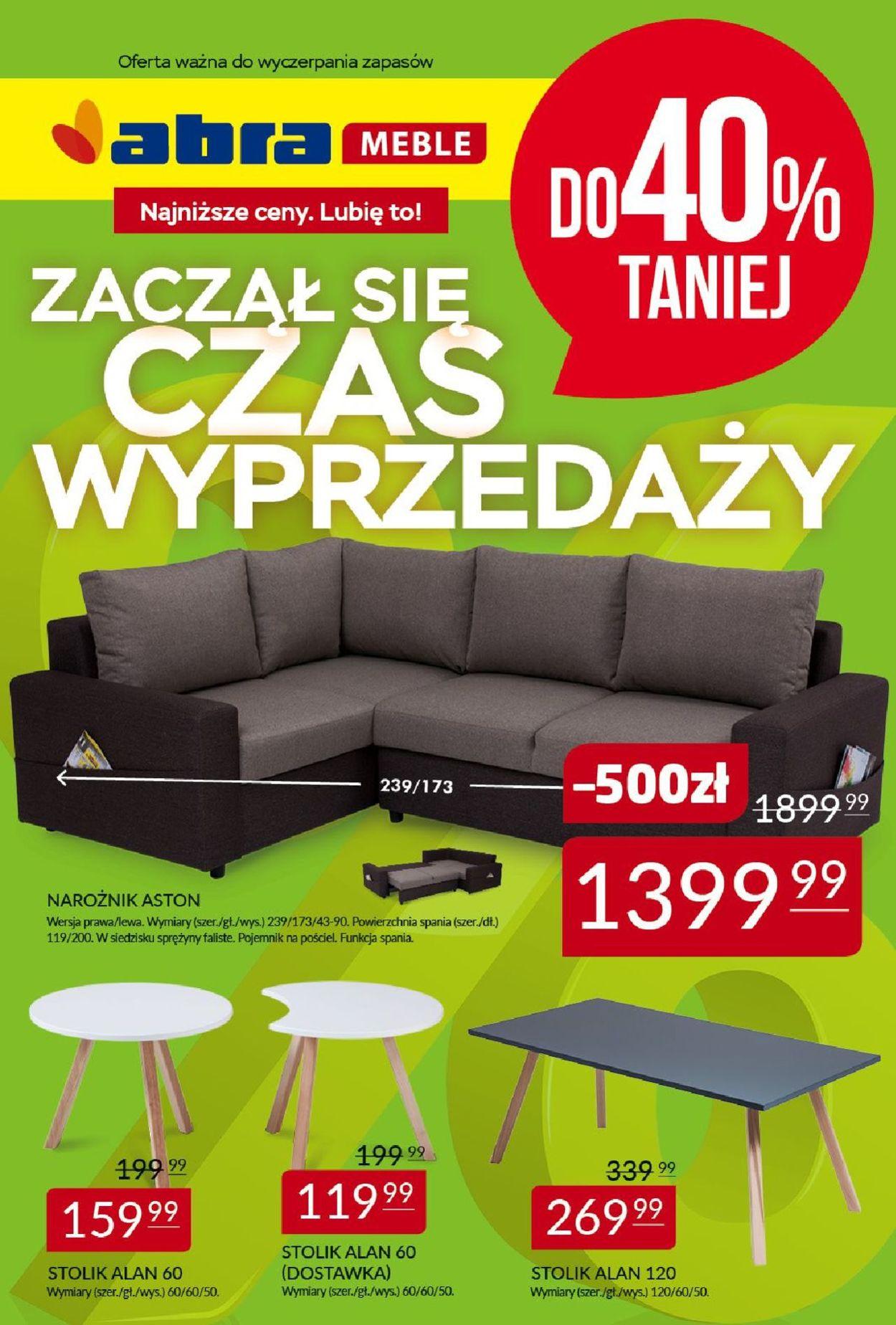 Gazetka promocyjna Abra - 08.04-09.05.2019
