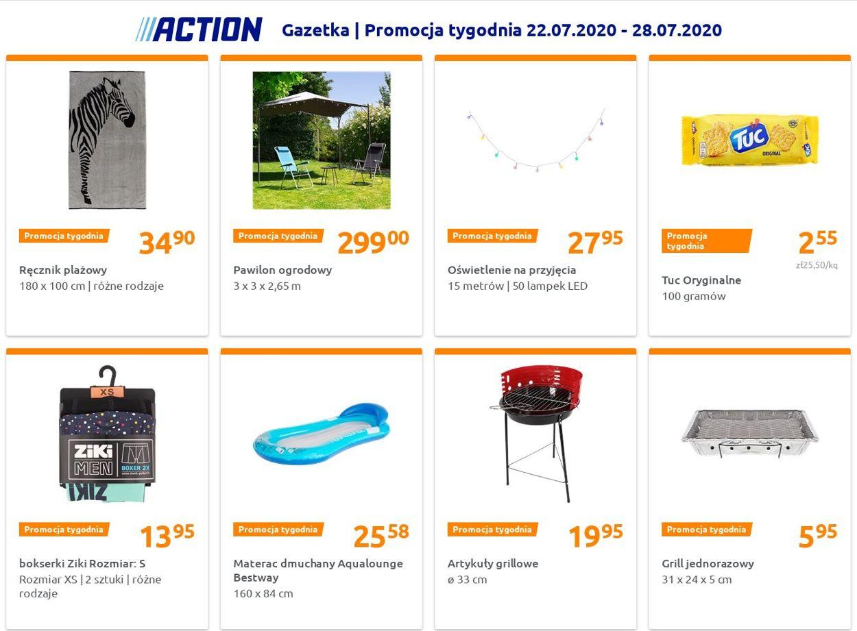 Gazetka promocyjna Action - 22.07-28.07.2020