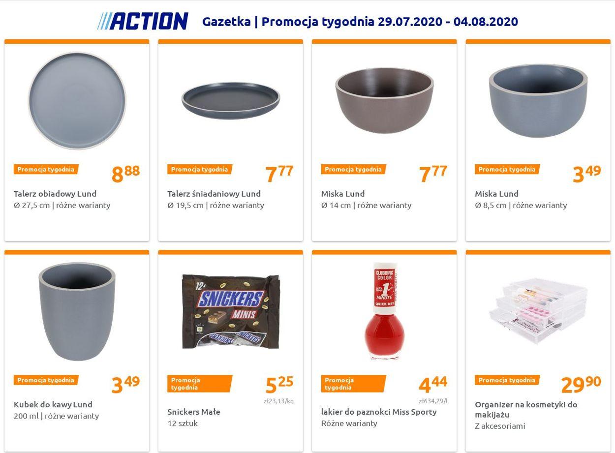 Gazetka promocyjna Action - 29.07-04.08.2020