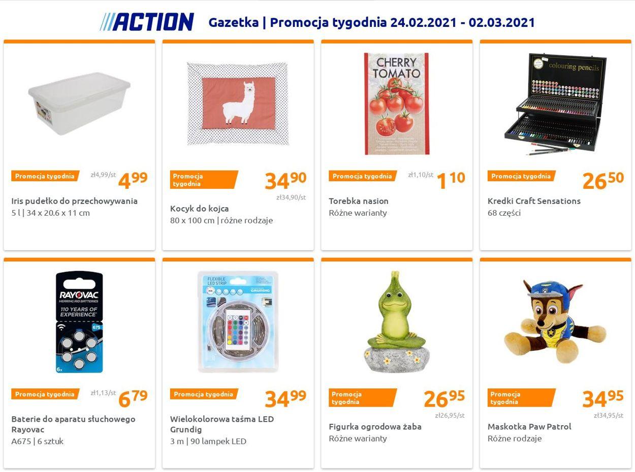 Gazetka promocyjna Action - 24.02-02.03.2021