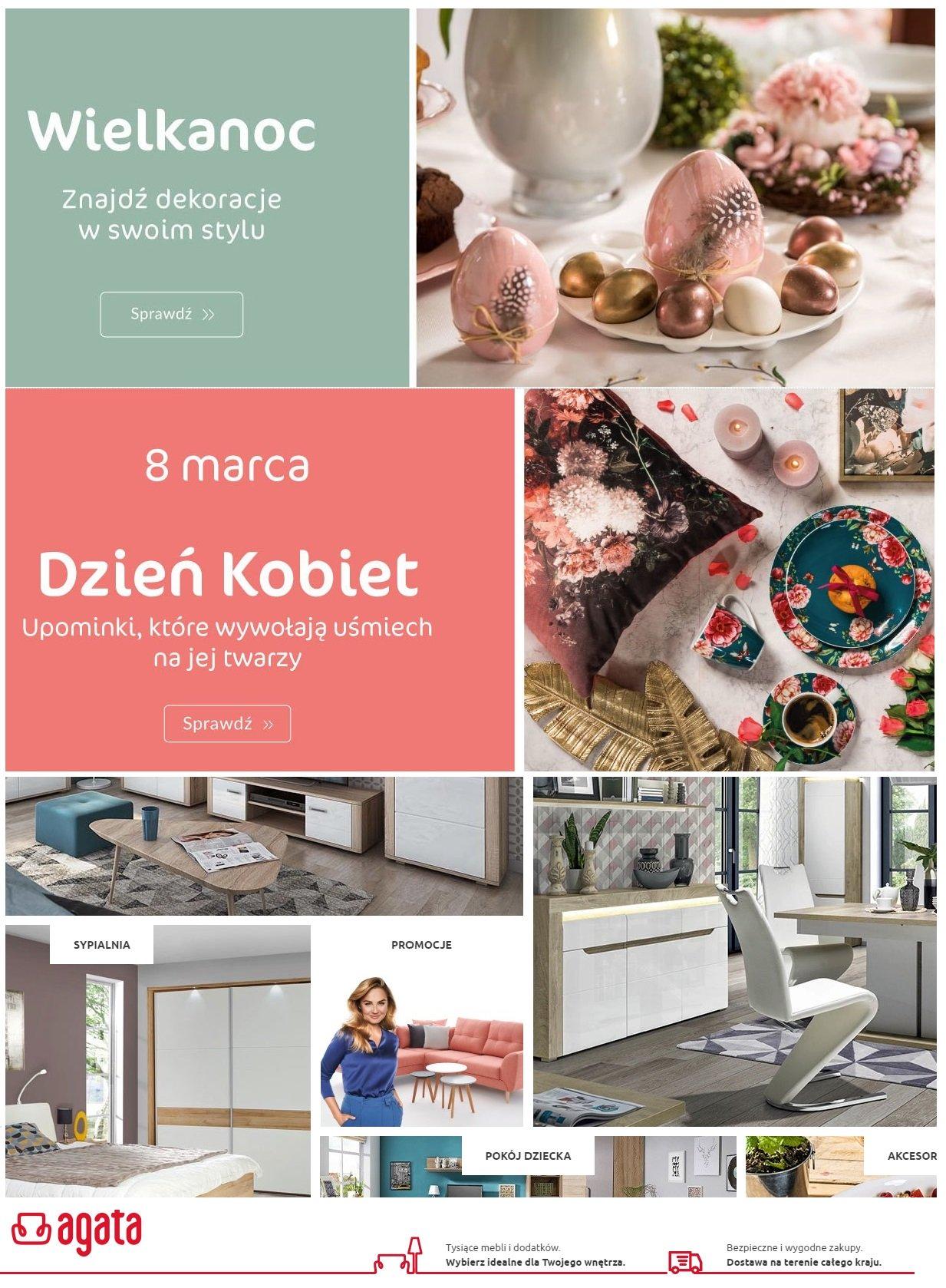Gazetka promocyjna Agata Meble - 06.03-11.03.2020