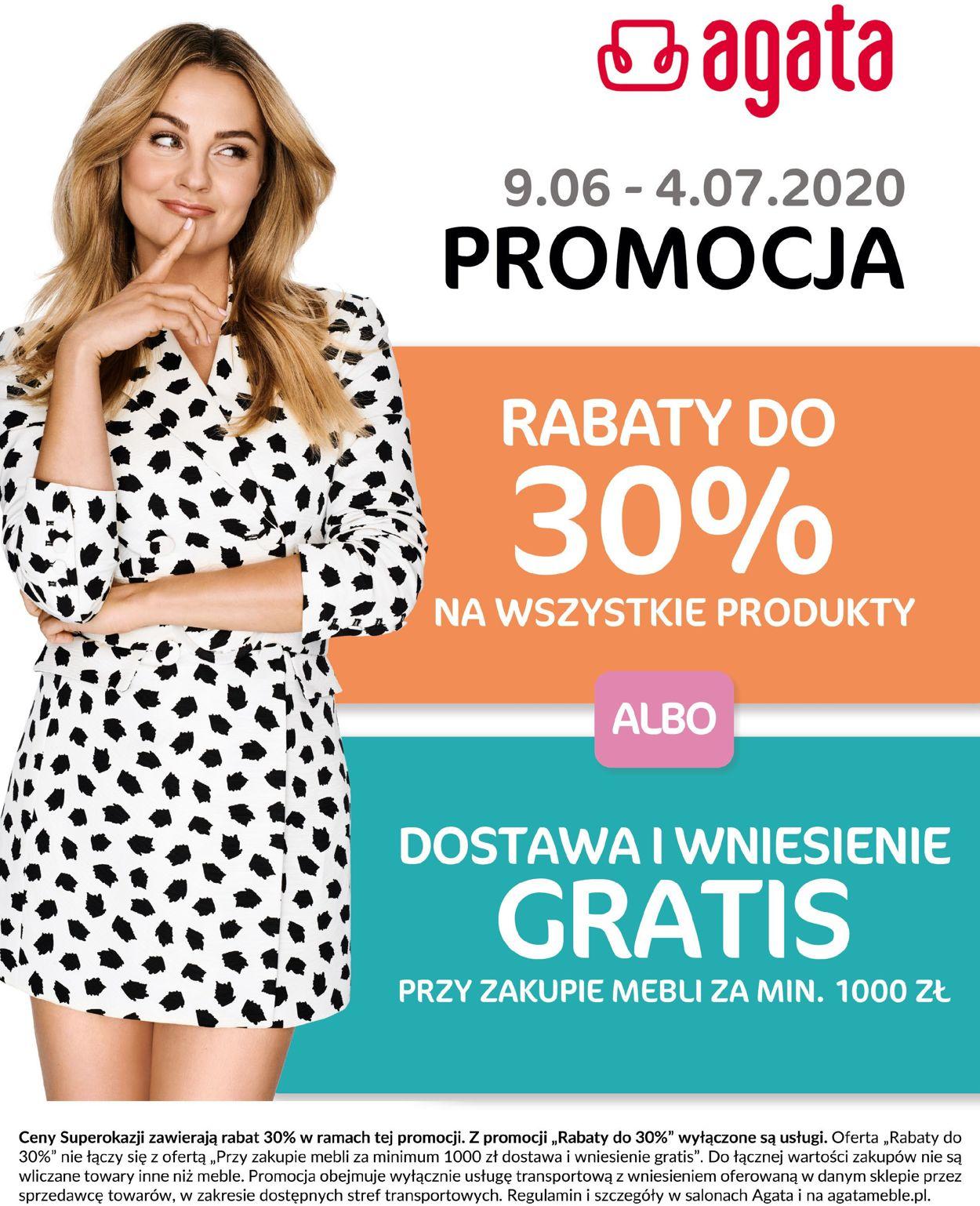 Gazetka promocyjna Agata Meble - 09.06-04.07.2020