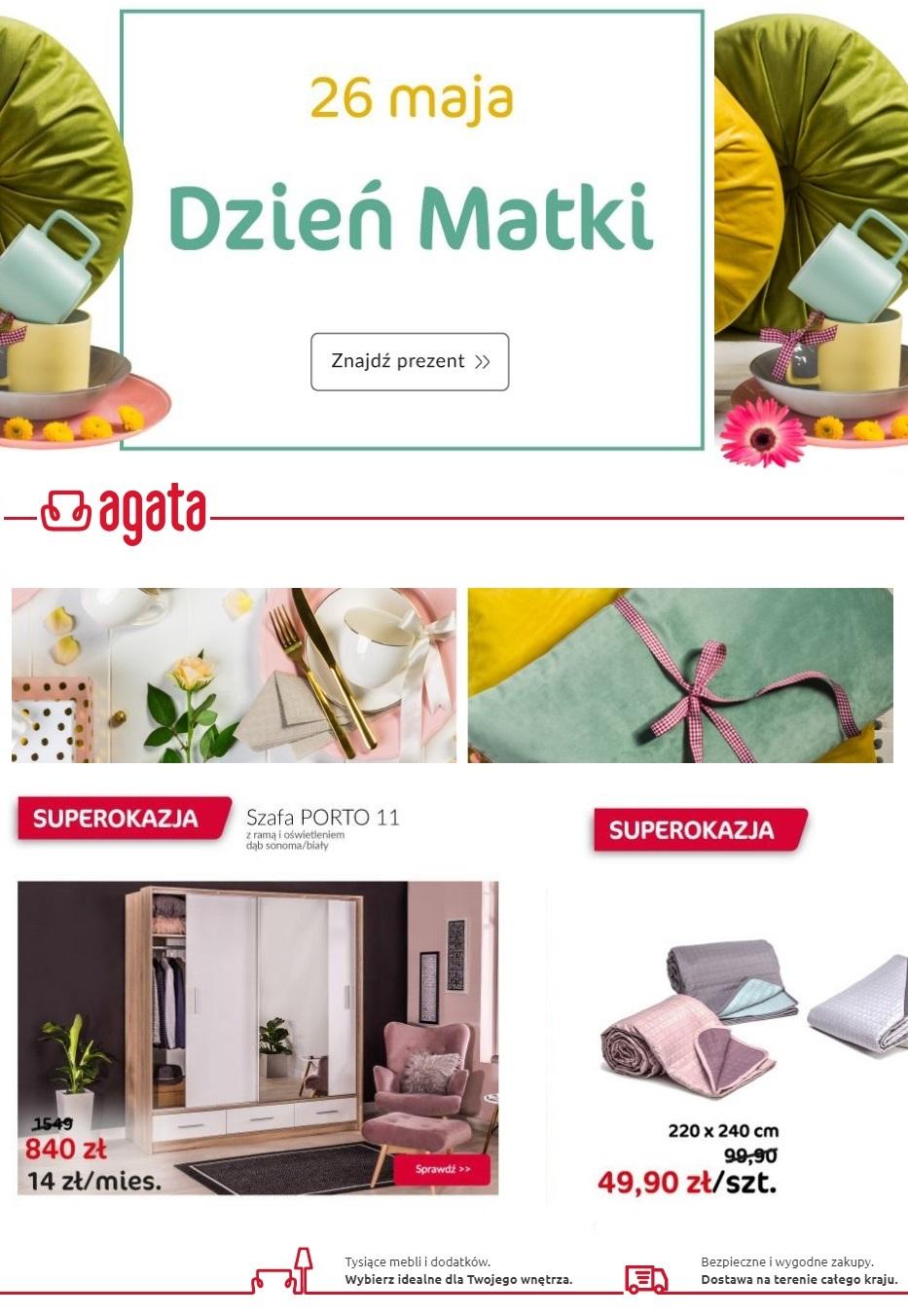 Gazetka promocyjna Agata Meble - 12.05-20.05.2019