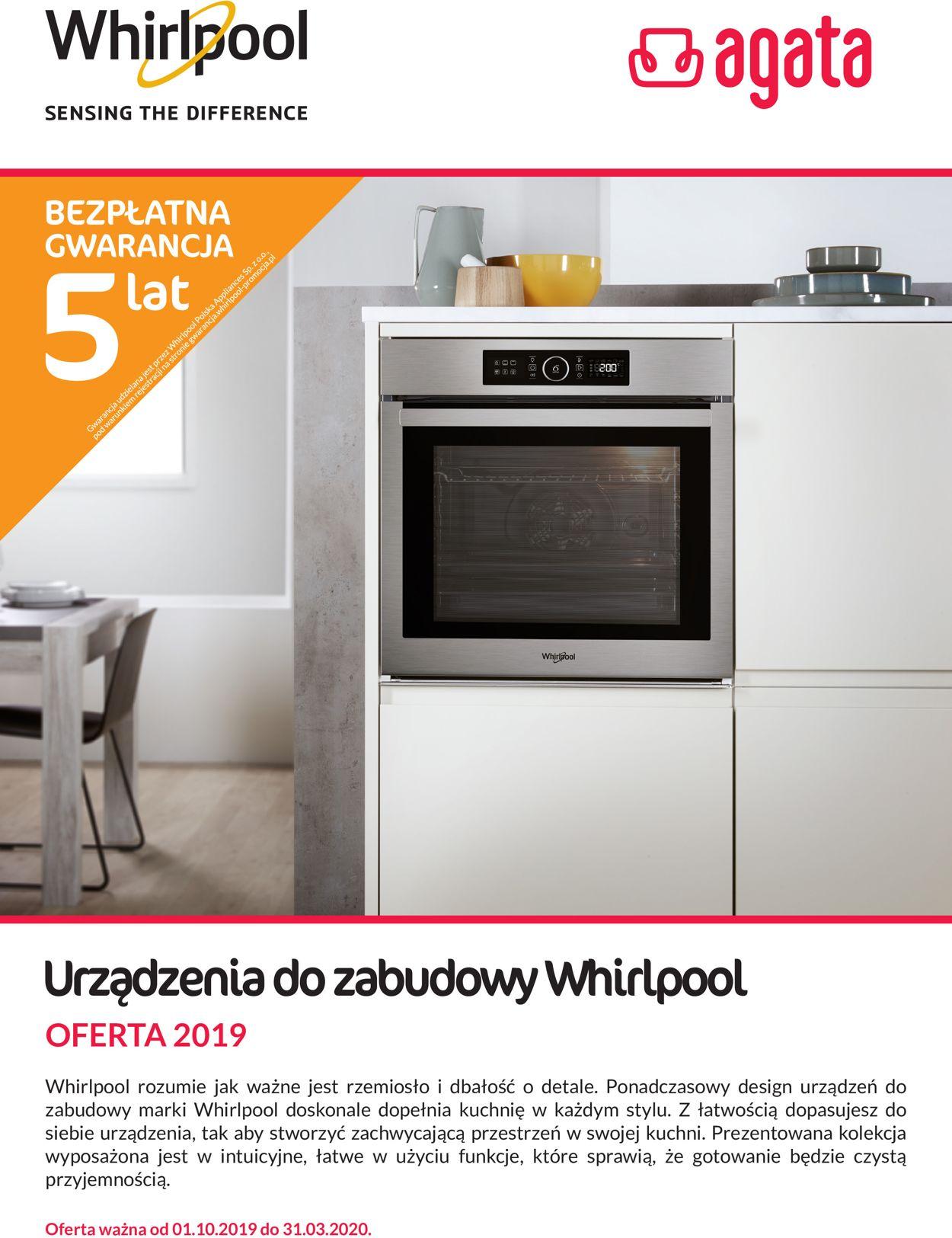 Gazetka promocyjna Agata Meble - 01.10-31.03.2020