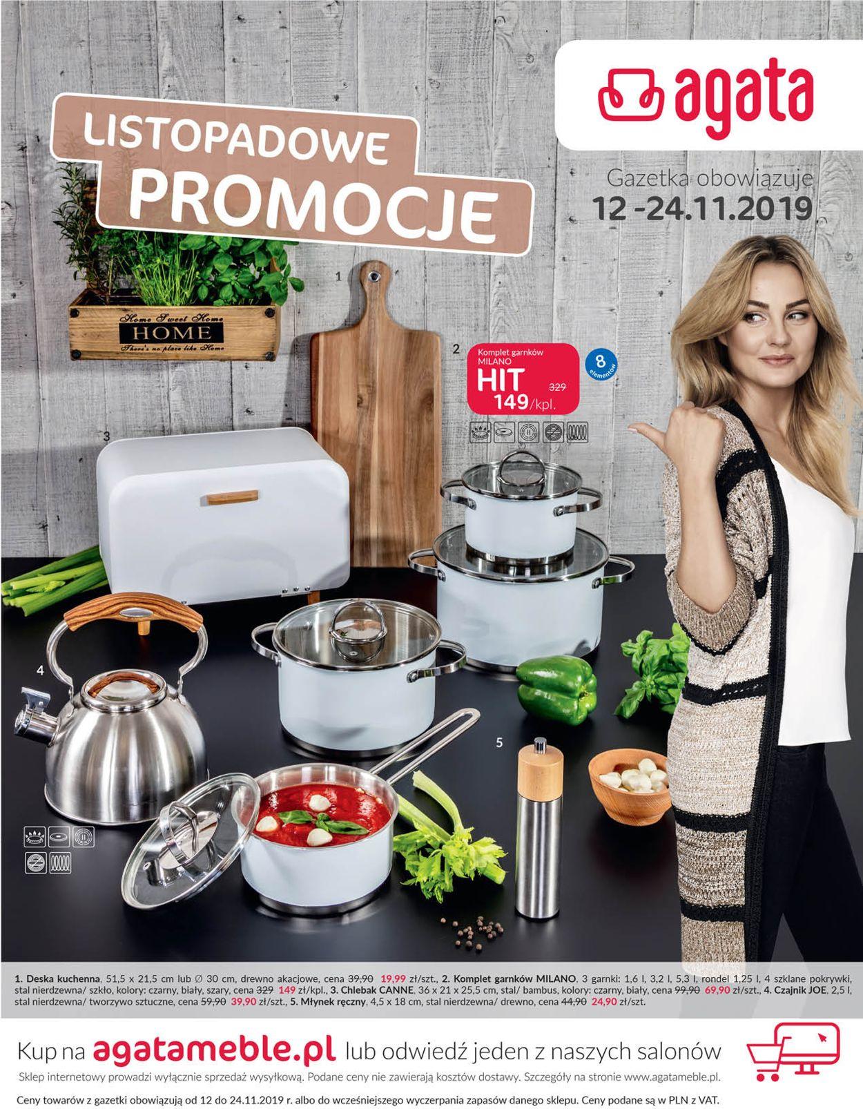 Gazetka promocyjna Agata Meble - 12.11-24.11.2019