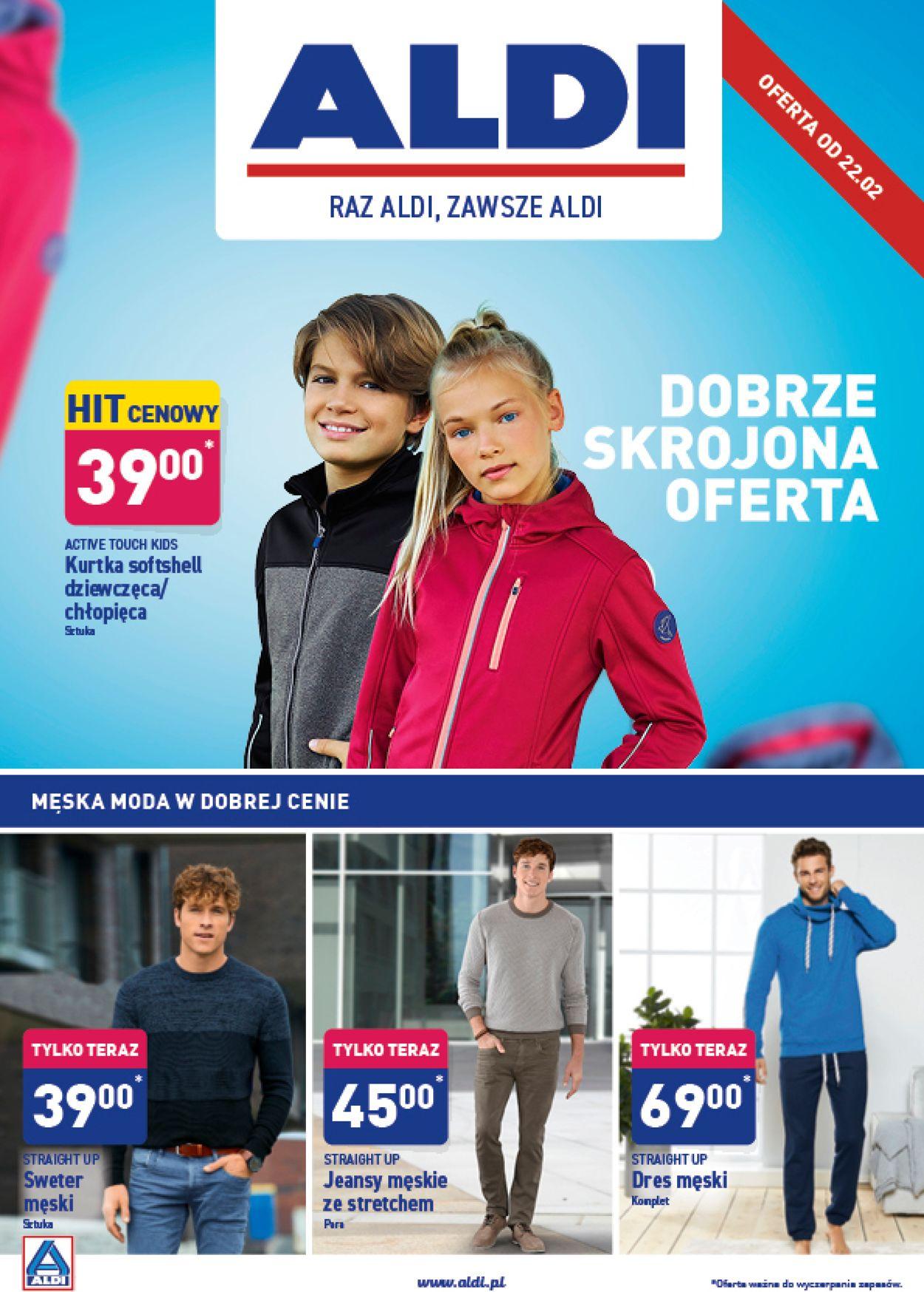 Gazetka promocyjna ALDI - 22.02-29.02.2020