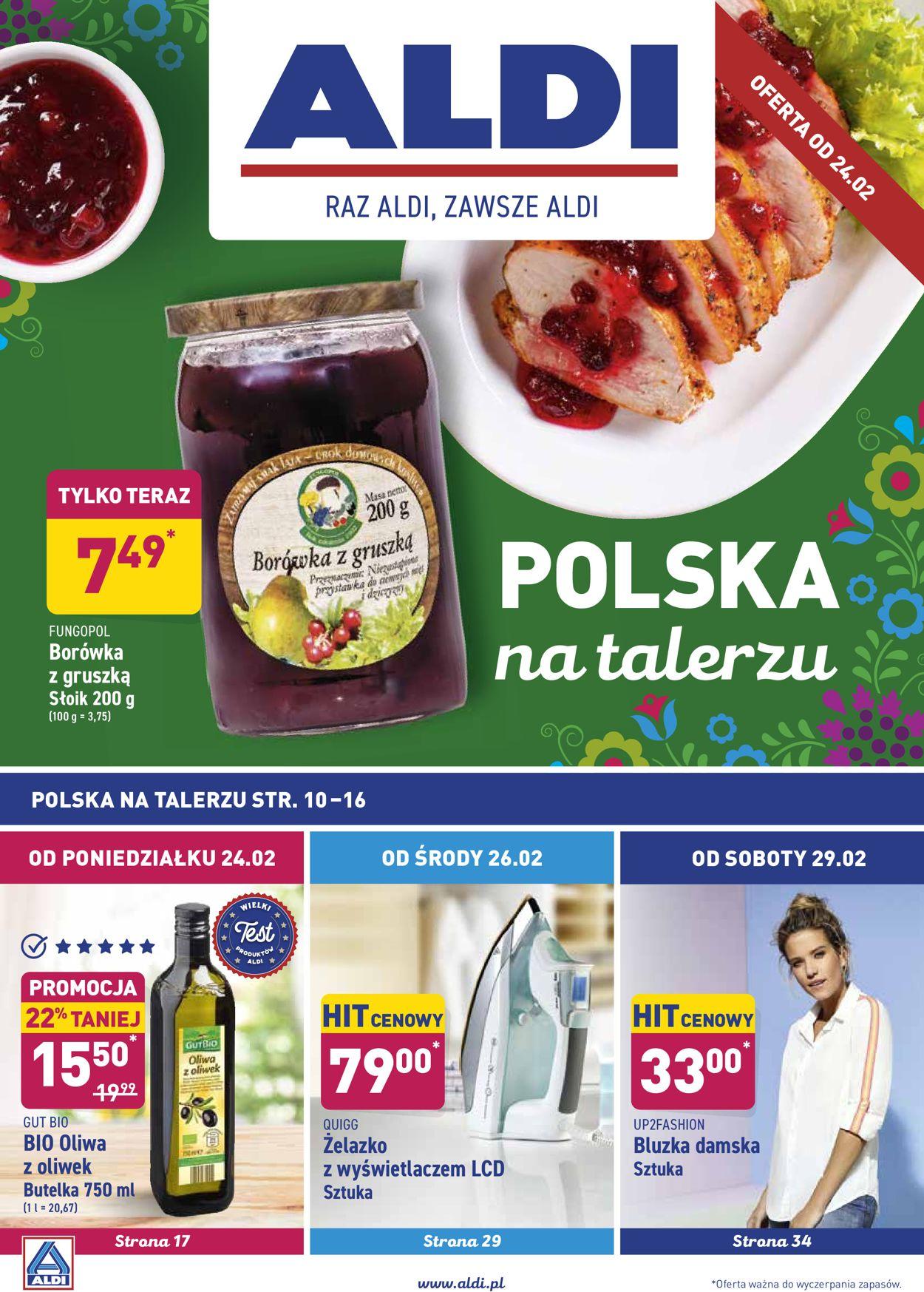 Gazetka promocyjna ALDI - 24.02-29.02.2020