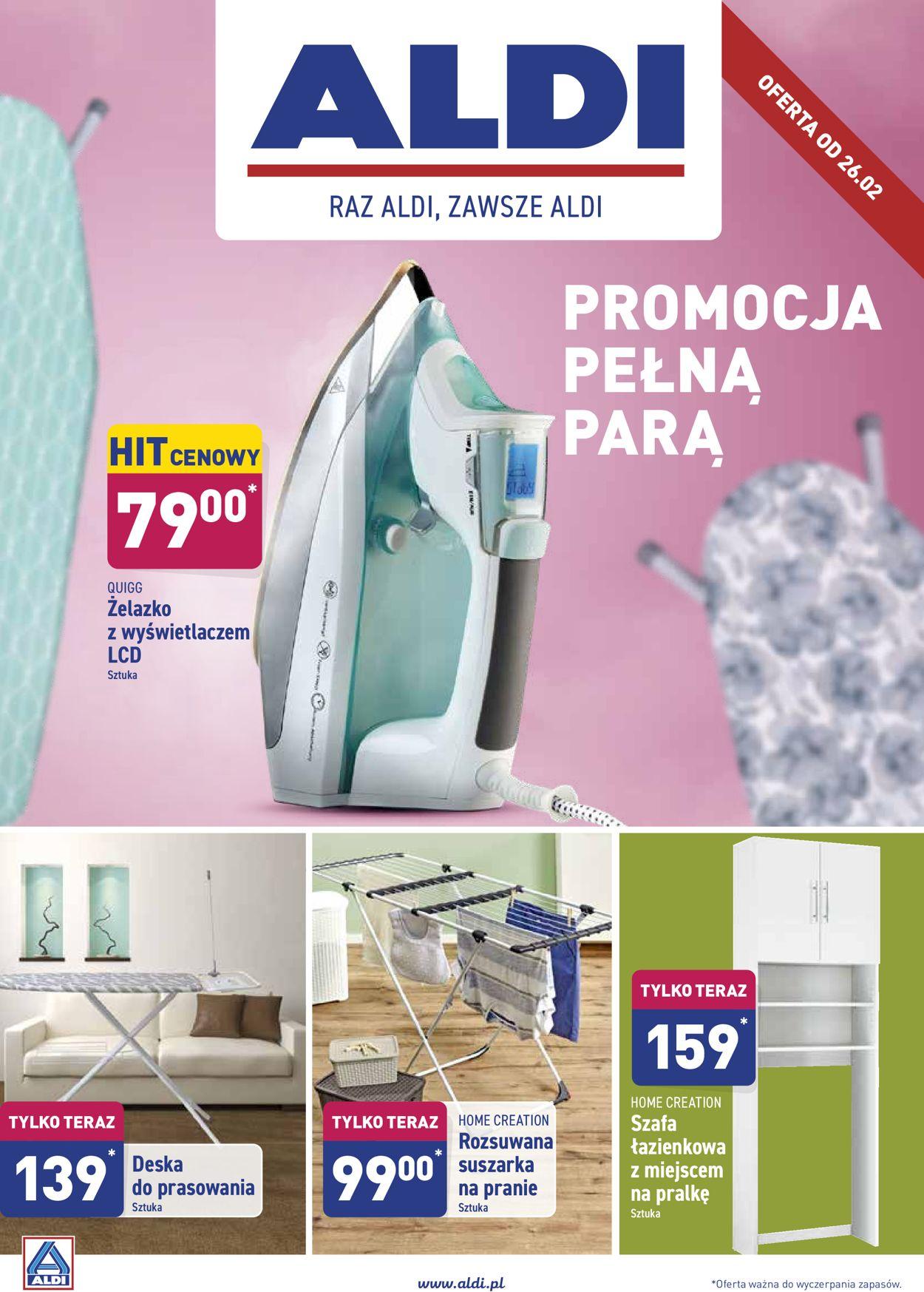 Gazetka promocyjna ALDI - 26.02-04.03.2020