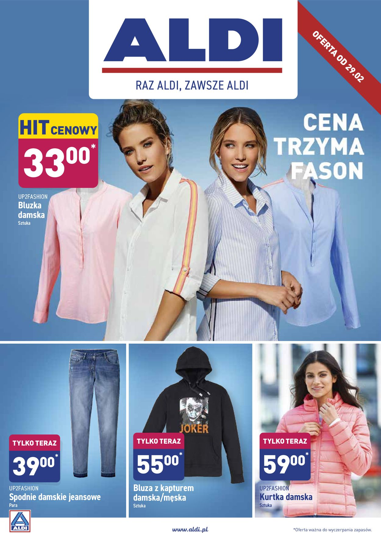 Gazetka promocyjna ALDI - 29.02-07.03.2020