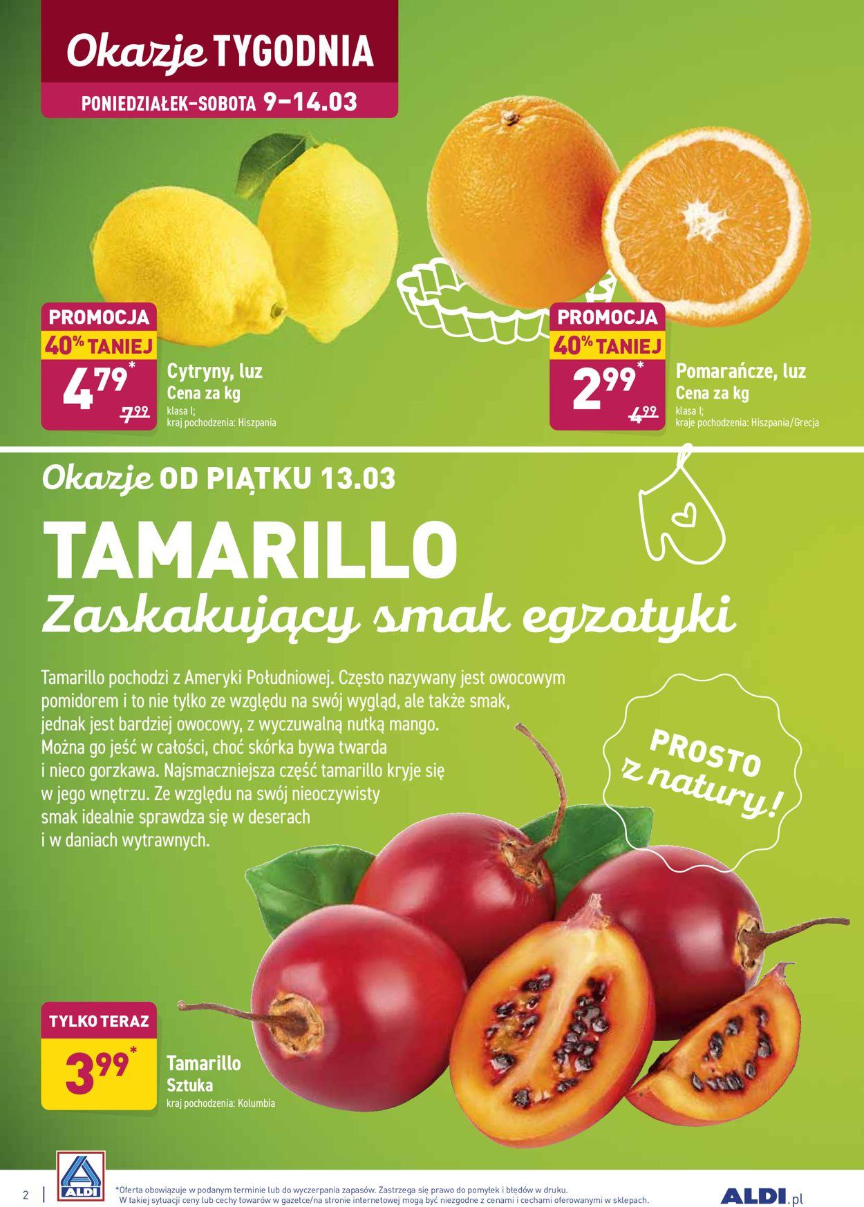 Gazetka promocyjna ALDI - 09.03-14.03.2020 (Strona 2)