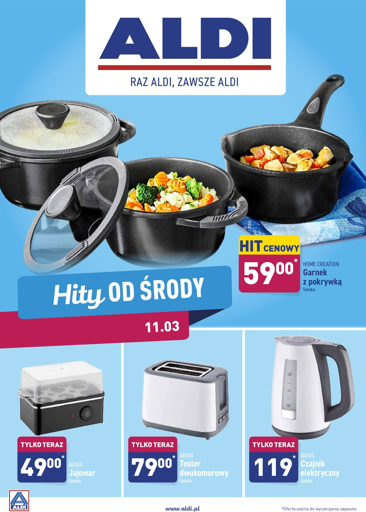 Gazetka promocyjna ALDI - 11.03-14.03.2020