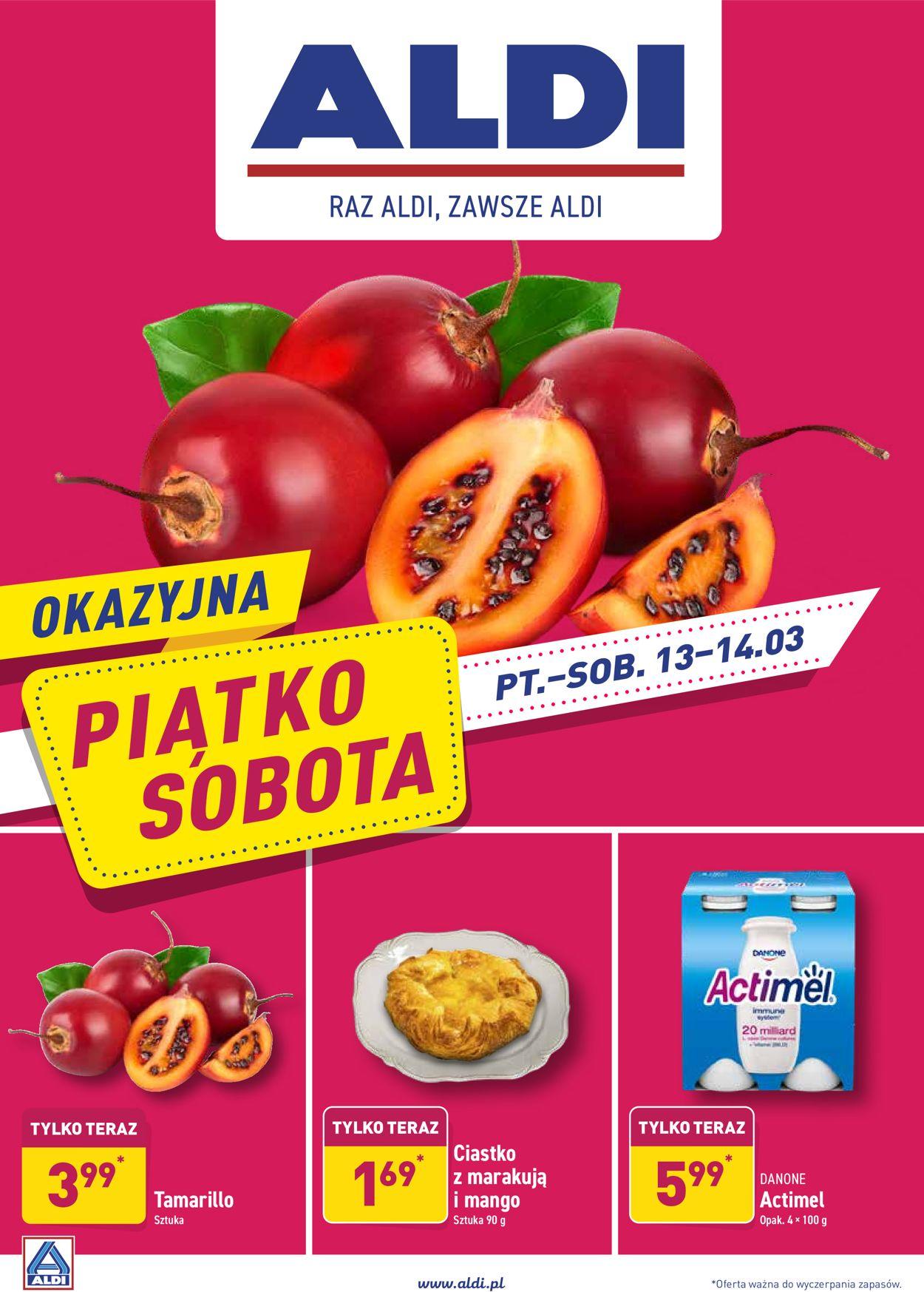 Gazetka promocyjna ALDI - 13.03-14.03.2020