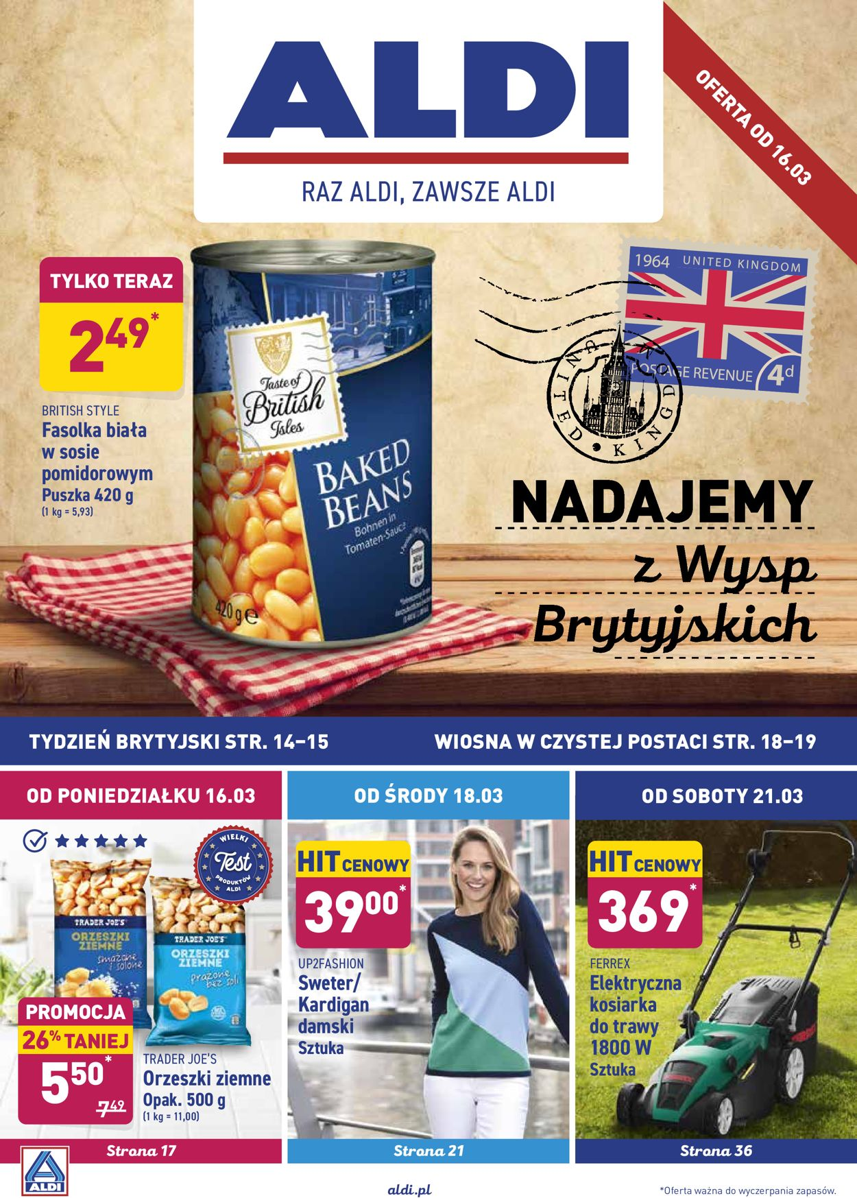 Gazetka promocyjna ALDI - 16.03-28.03.2020
