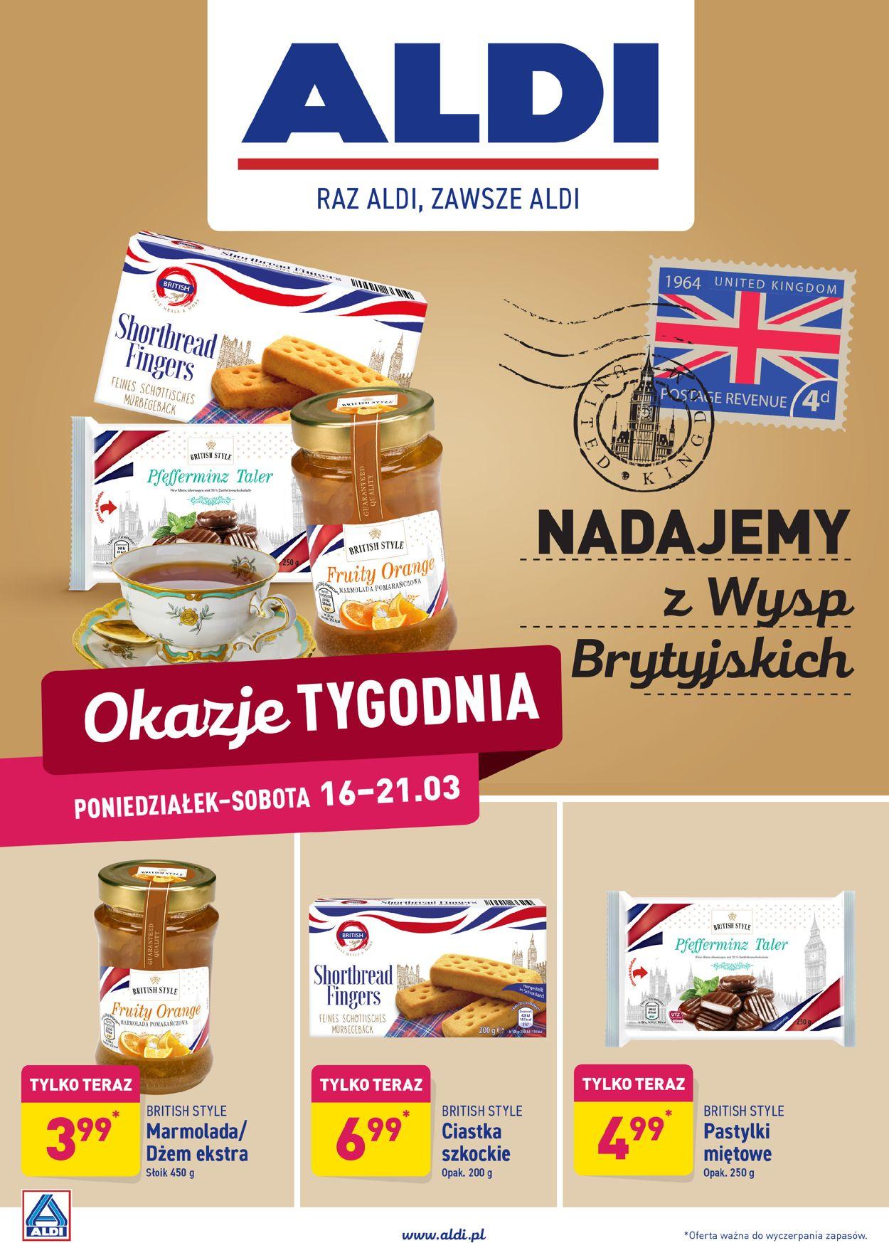 Gazetka promocyjna ALDI - 16.03-21.03.2020