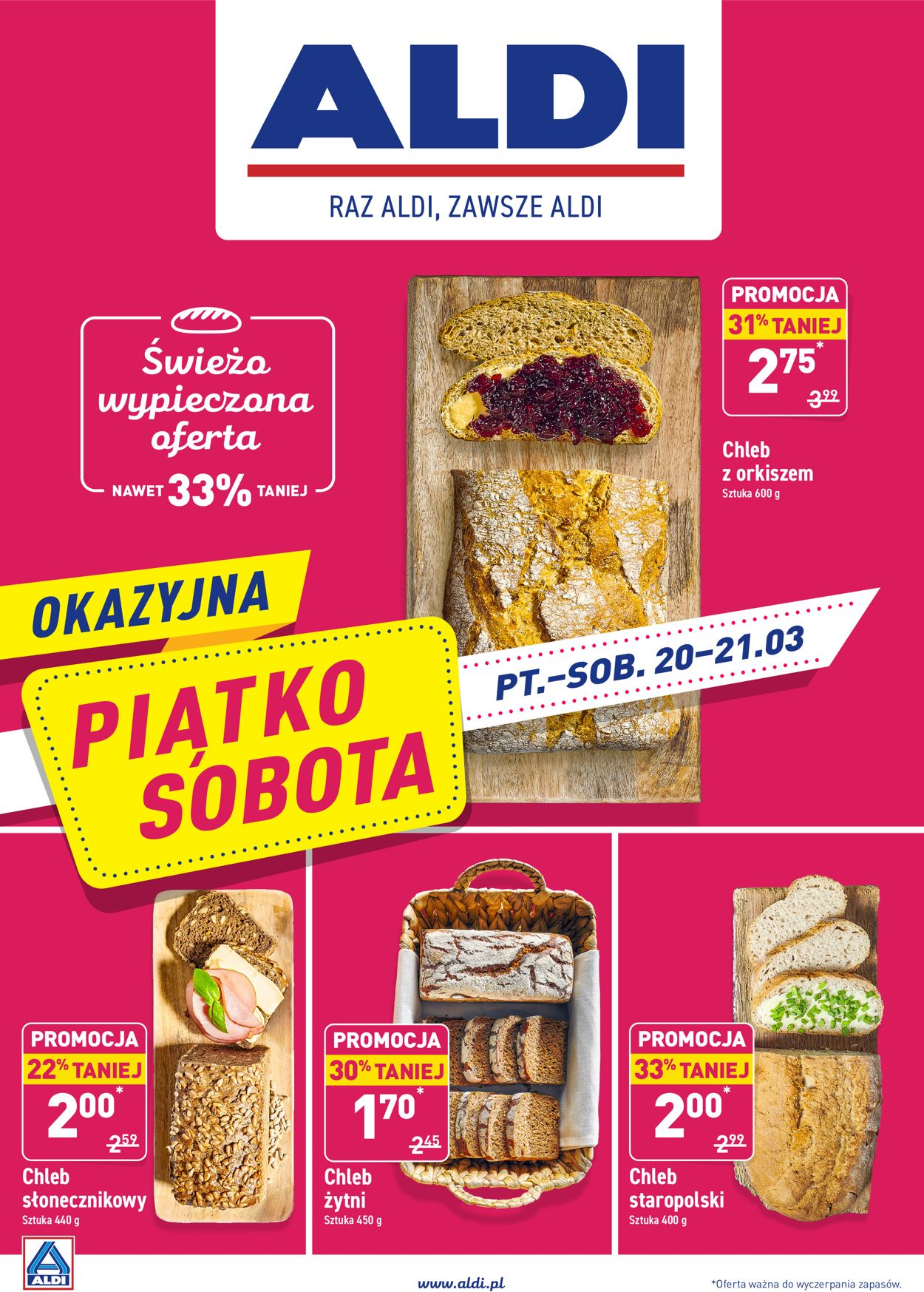 Gazetka promocyjna ALDI - 20.03-21.03.2020