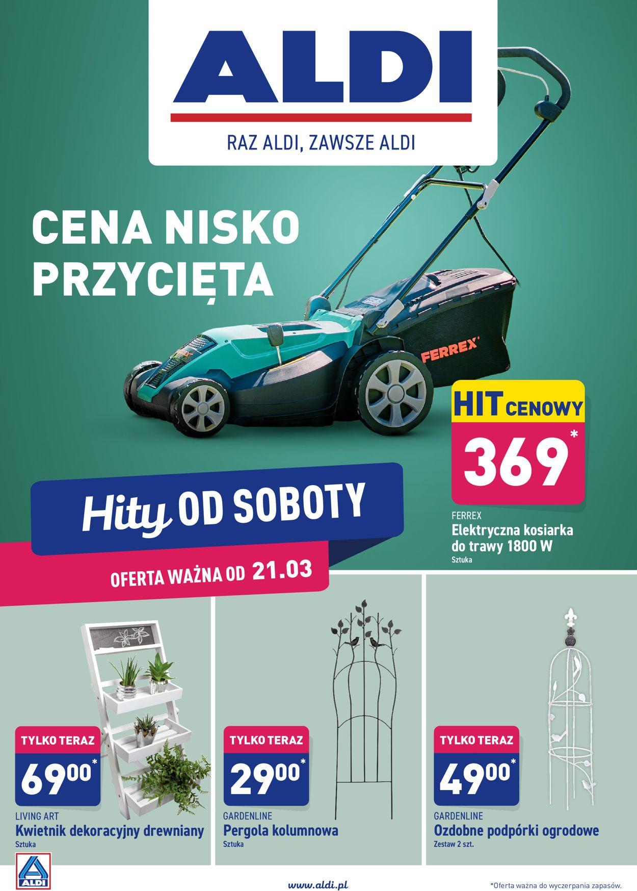 Gazetka promocyjna ALDI - 21.03-28.03.2020