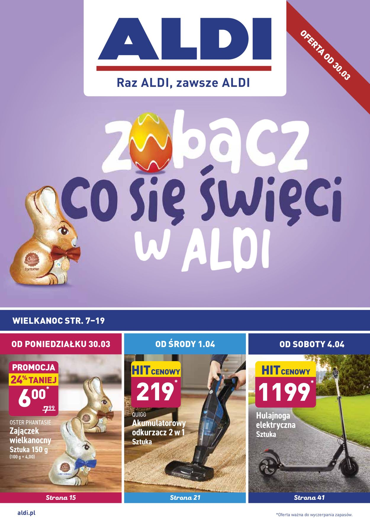 Gazetka promocyjna ALDI - 30.03-05.04.2020