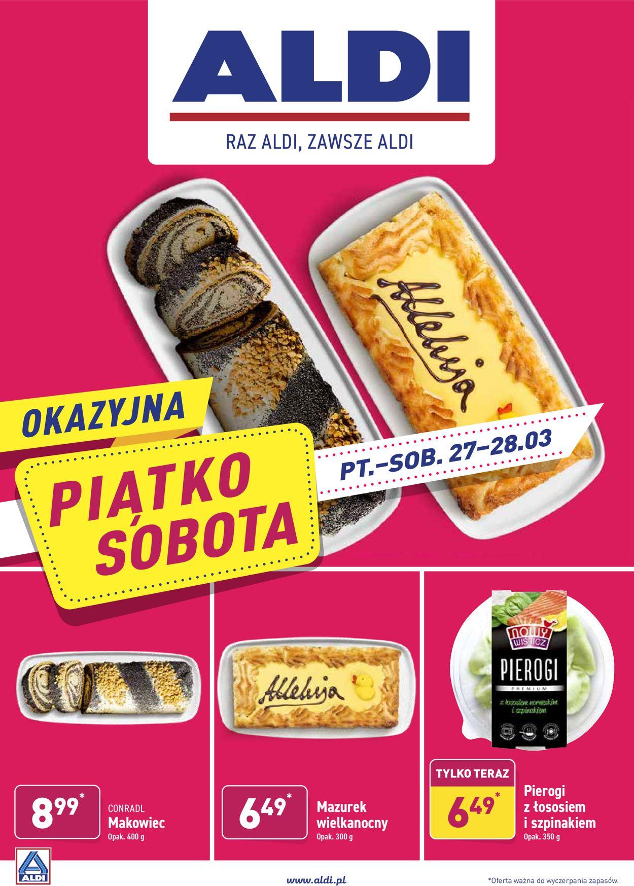 Gazetka promocyjna ALDI - 03.04-05.04.2020