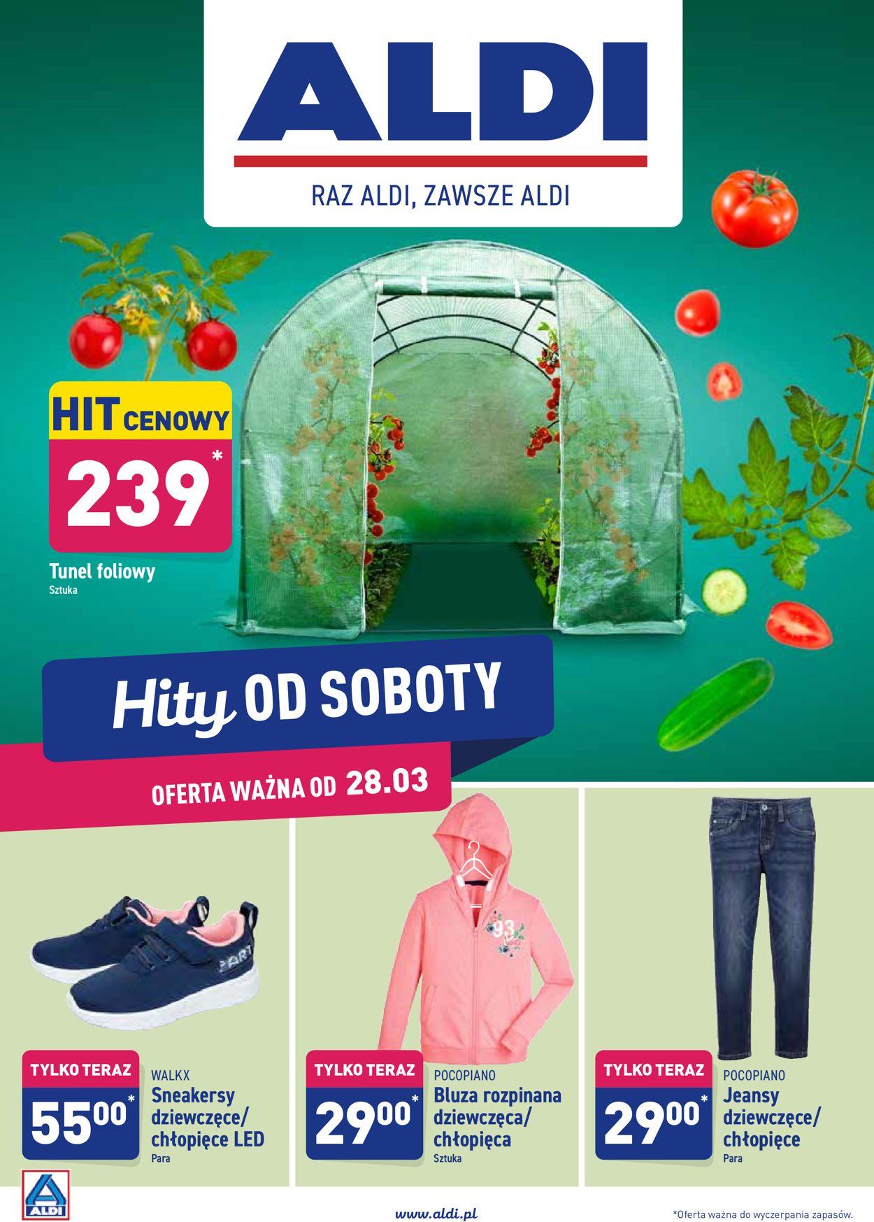 Gazetka promocyjna ALDI - 28.03-04.04.2020