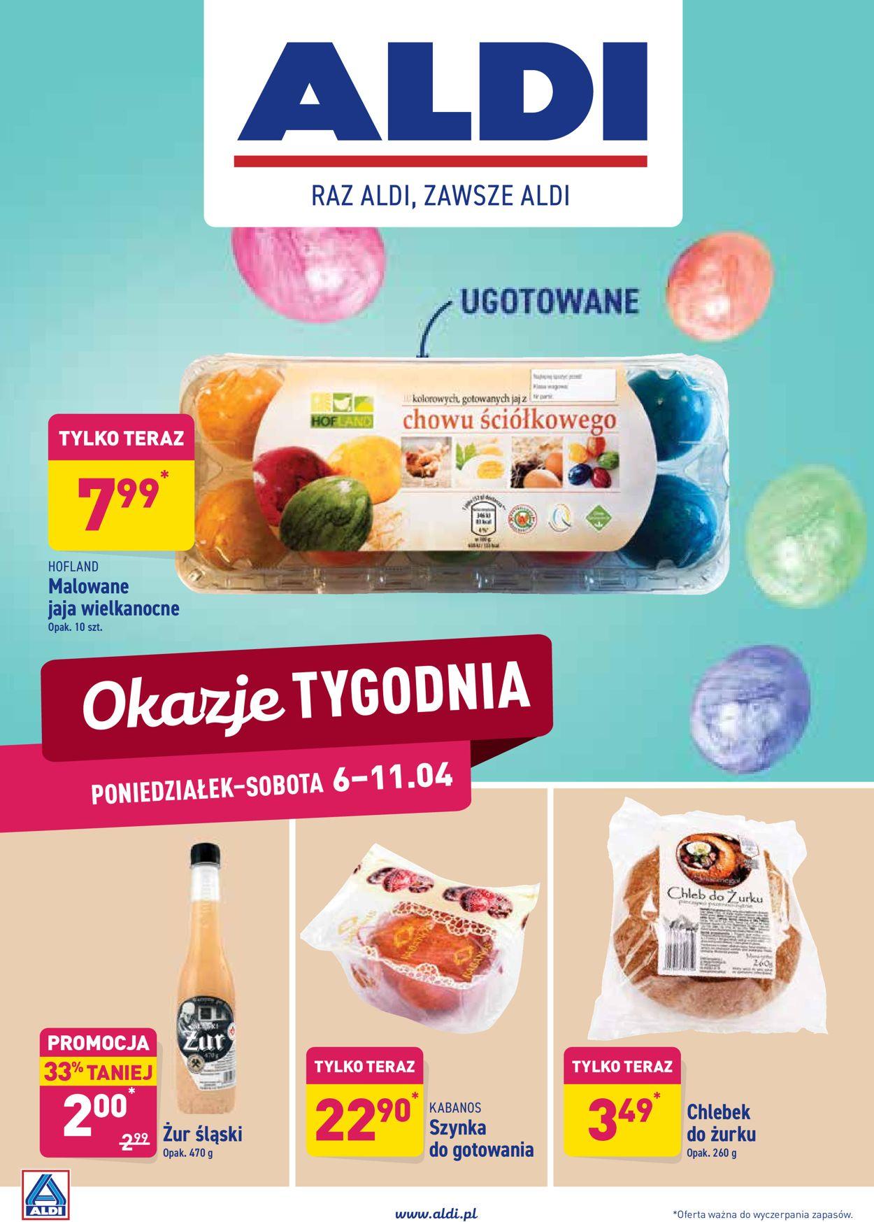 Gazetka promocyjna ALDI - 06.04-11.04.2020