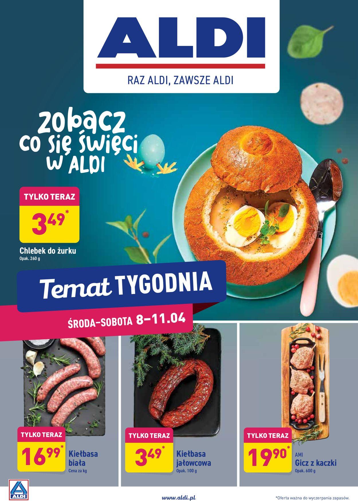 Gazetka promocyjna ALDI - 08.04-11.04.2020