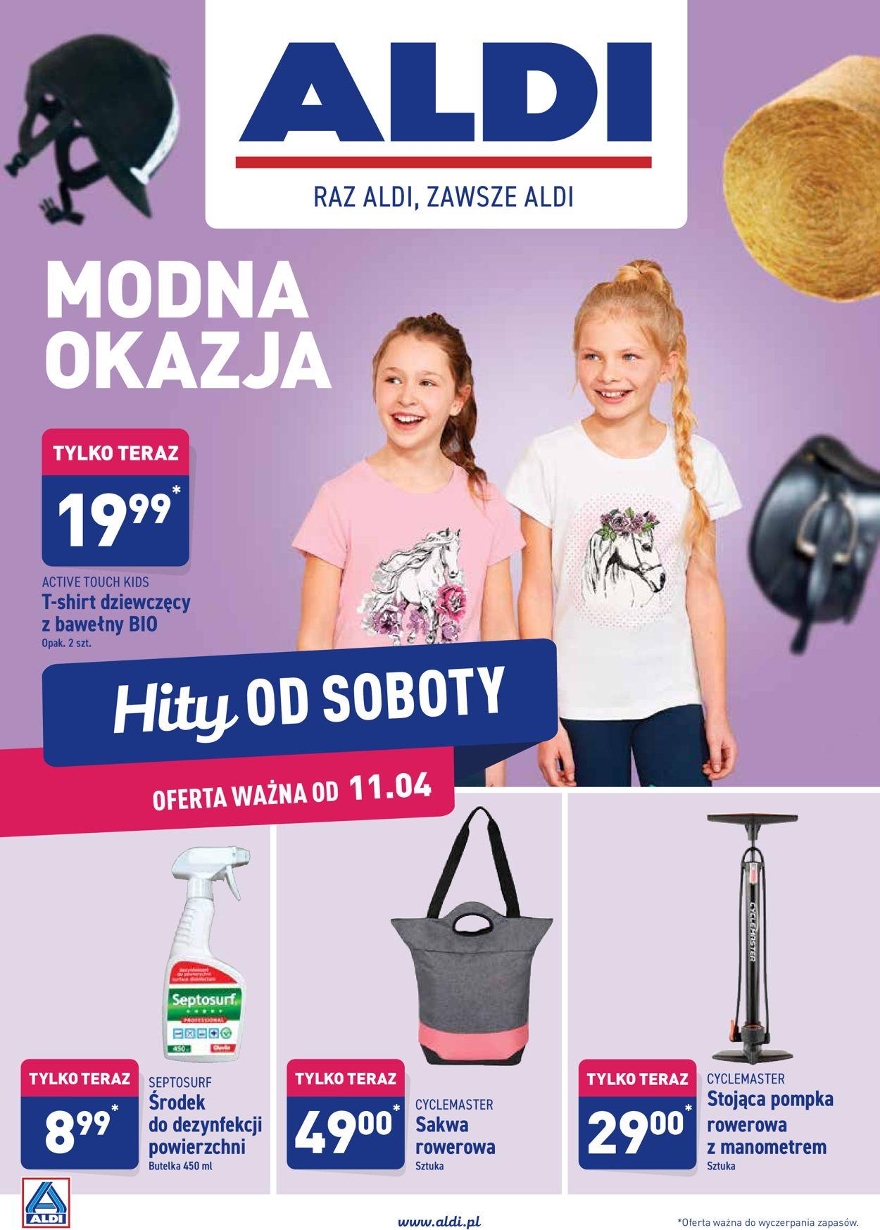 Gazetka promocyjna ALDI - 11.04-18.04.2020