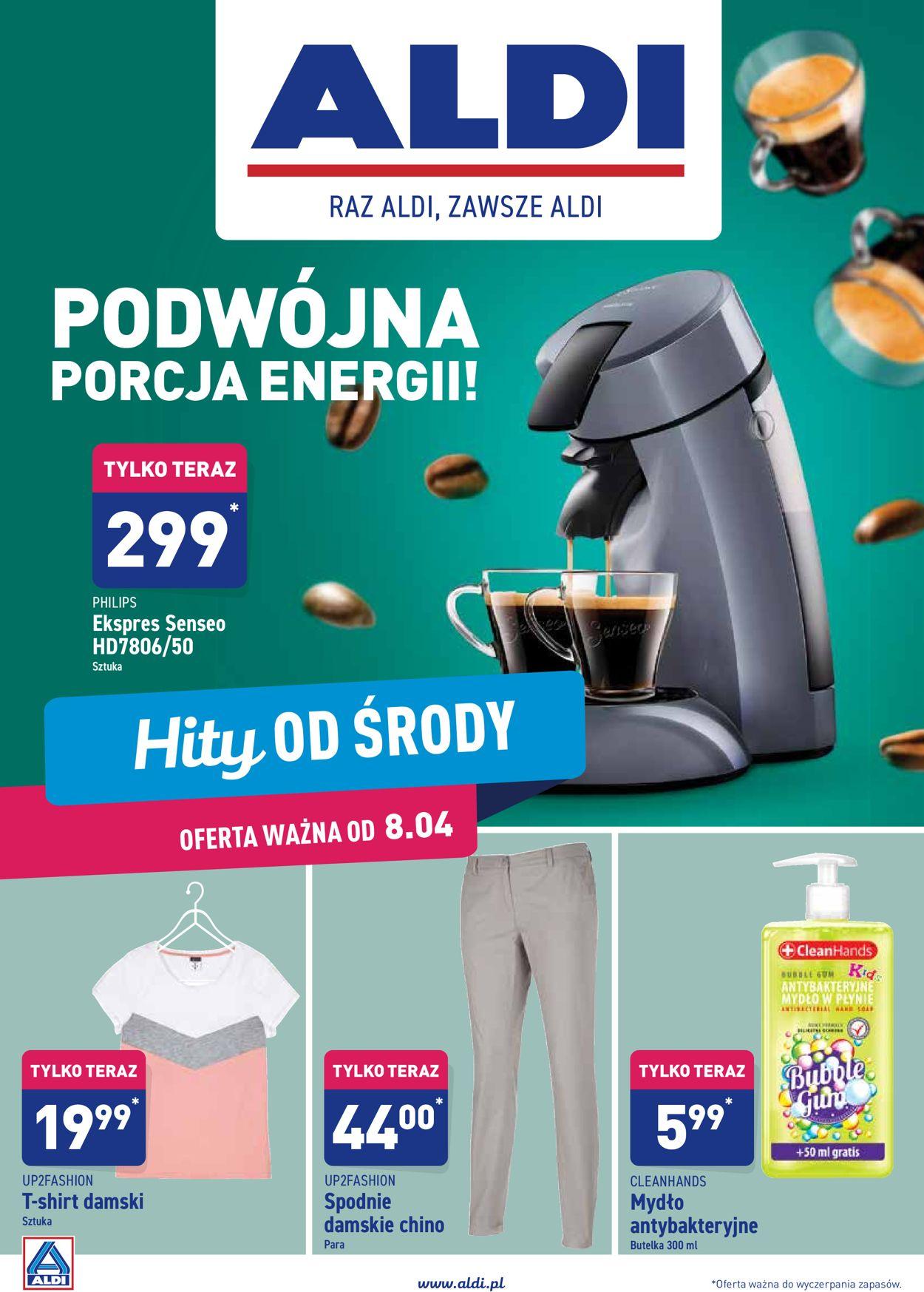 Gazetka promocyjna ALDI - 08.04-14.04.2020