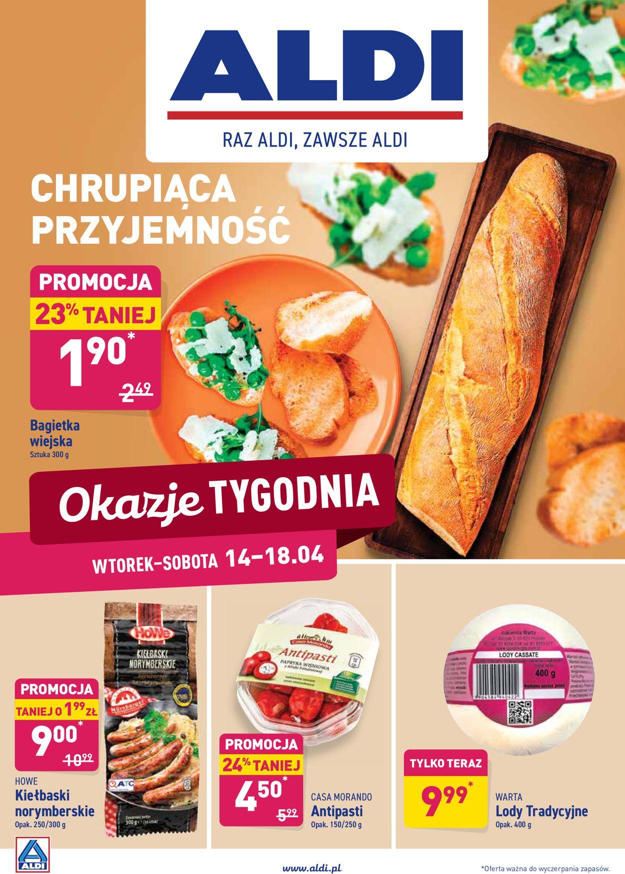 Gazetka promocyjna ALDI - 14.04-18.04.2020