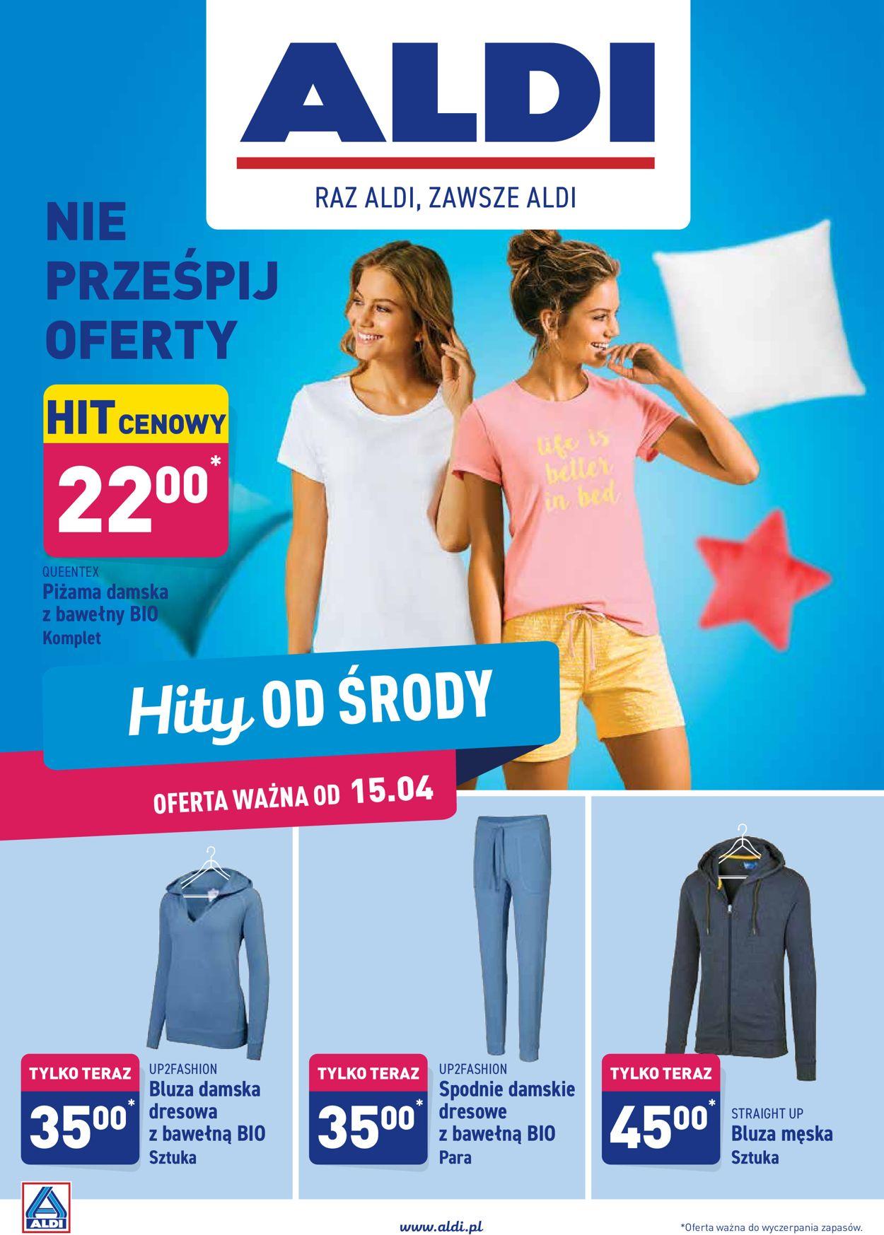 Gazetka promocyjna ALDI - 15.04-21.04.2020
