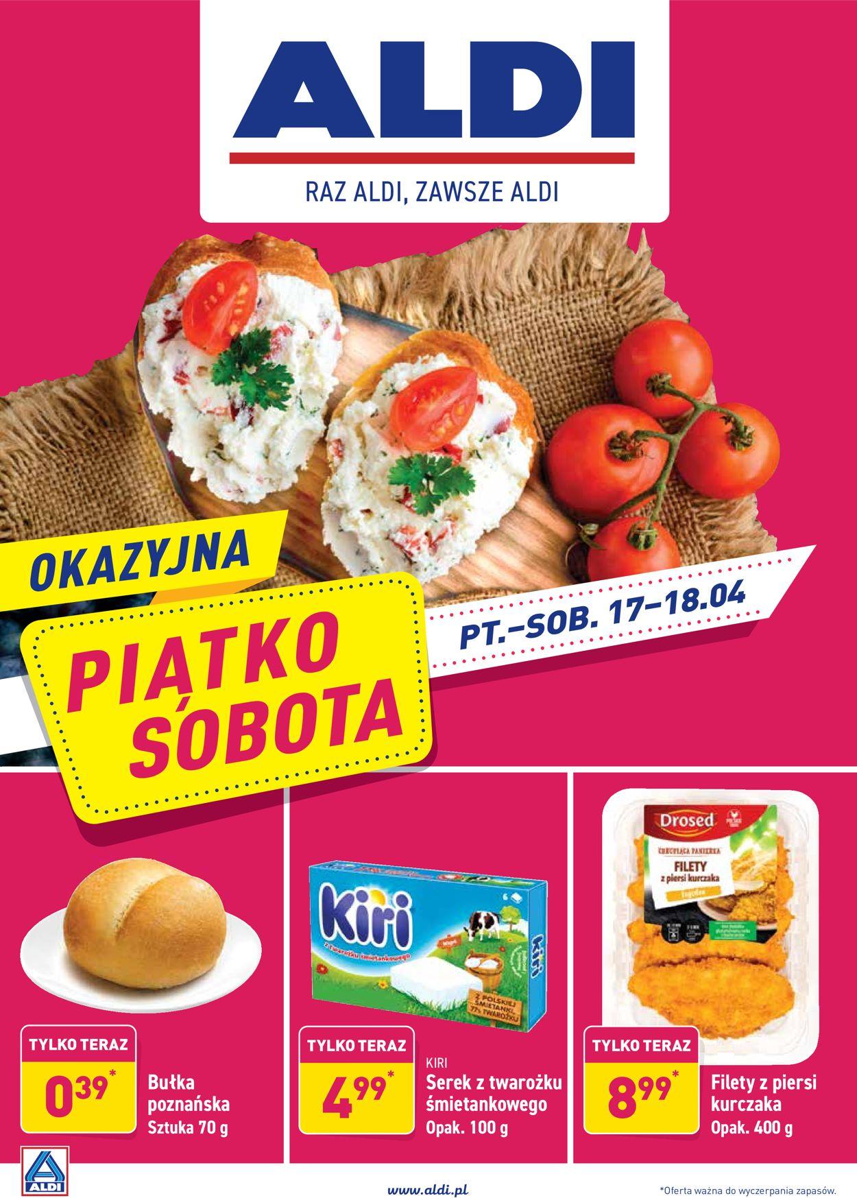 Gazetka promocyjna ALDI - 17.04-18.04.2020